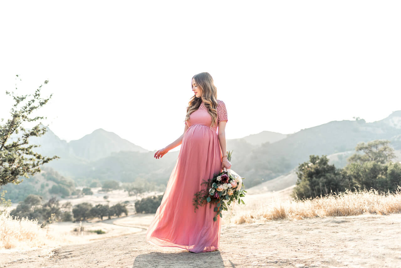 ethereal maternity inspiration shoot