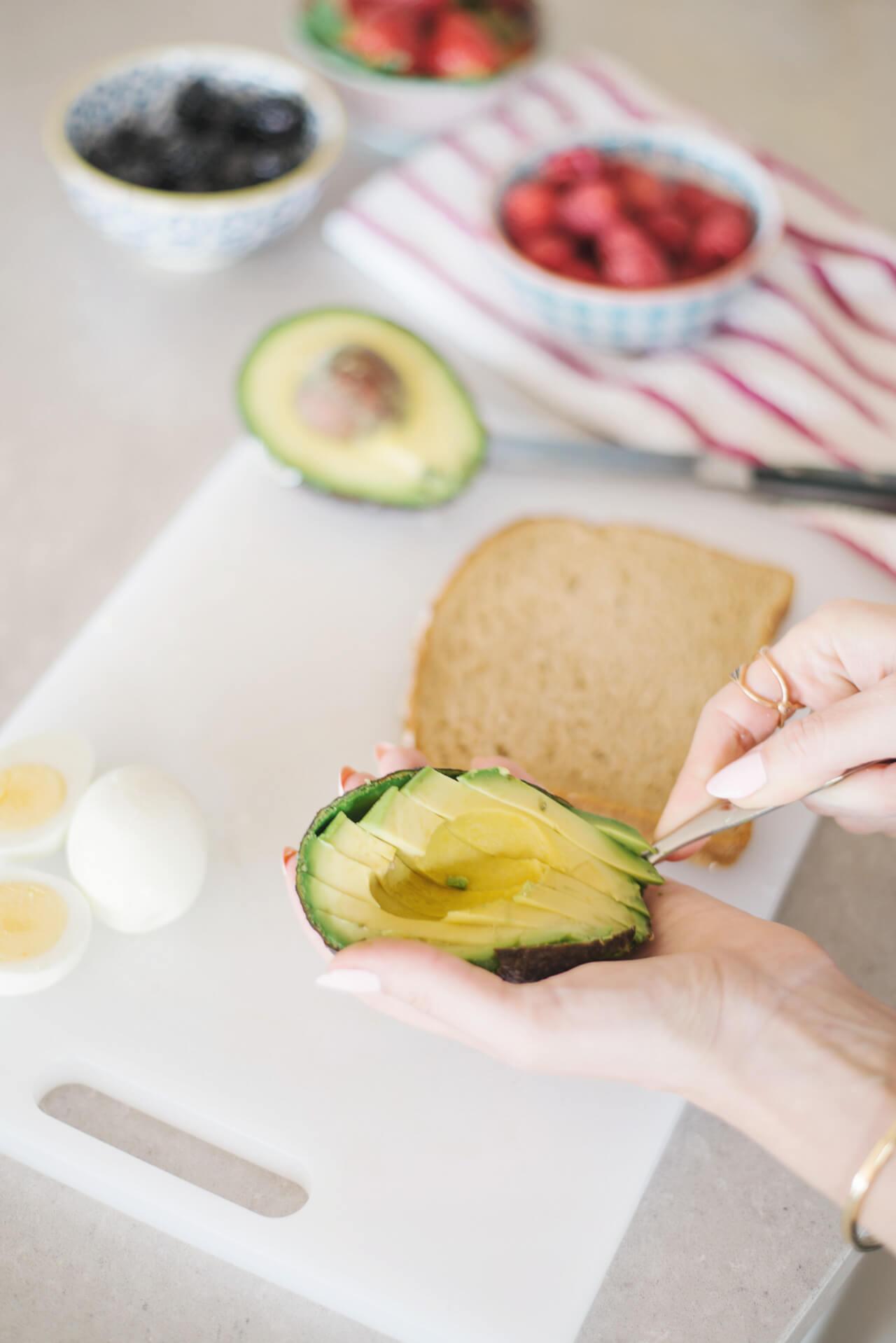 make your own avocado toast