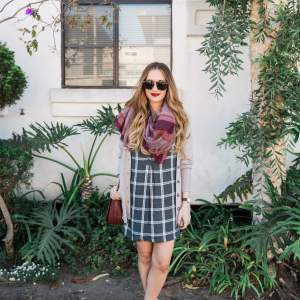 how to pair plaid with plaid