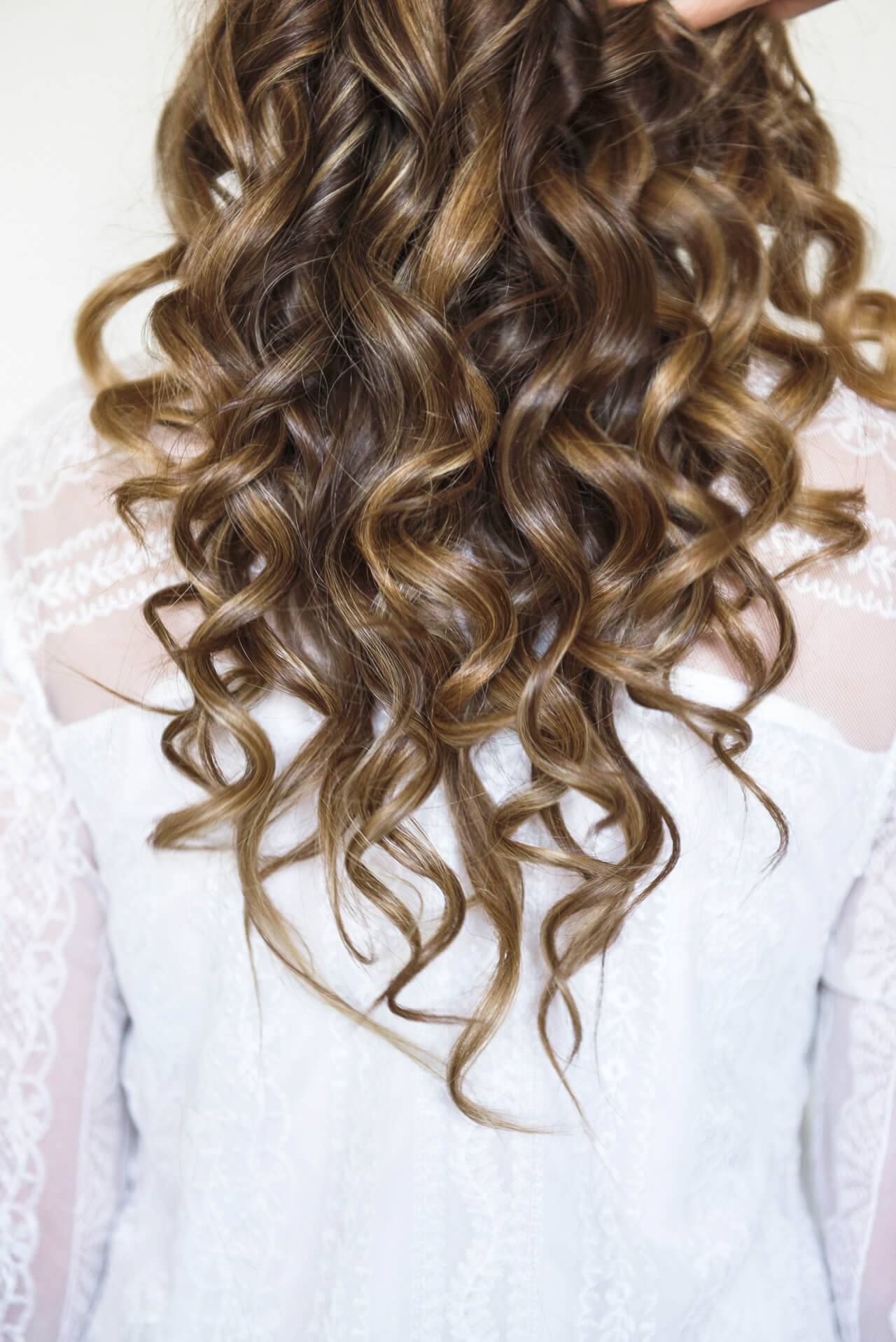 lots of spiral curls are great for the holidays
