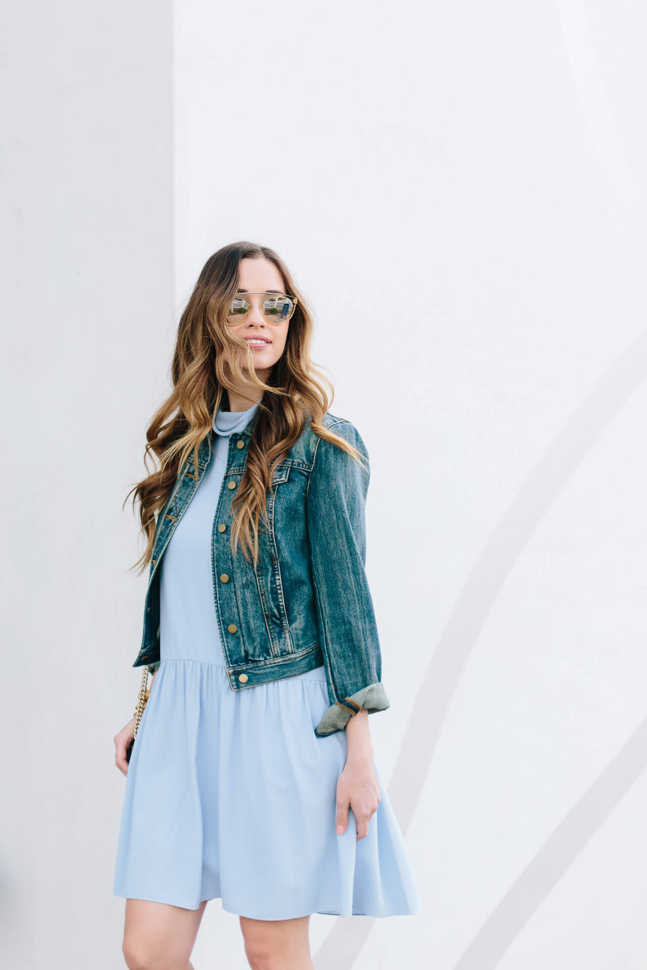 styling denim jackets in the spring