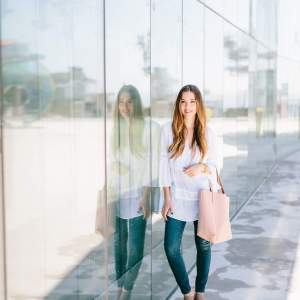 Styling 1 Pair of Jeans 2 Ways for Spring