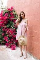 a dress you can wear from brunch to beach now up on blog pink on pink is my new favorite - M Loves M @marmar