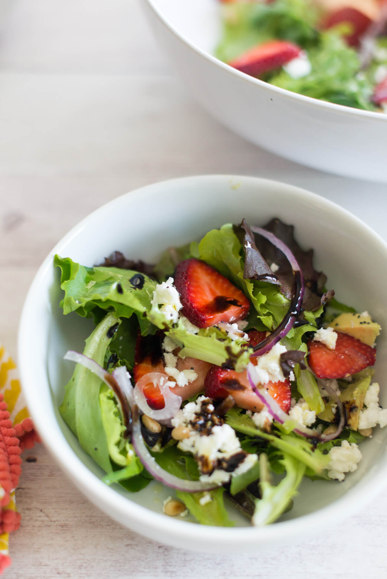 my super easy yet delicious recipe for a summer salad is now up on M Loves M