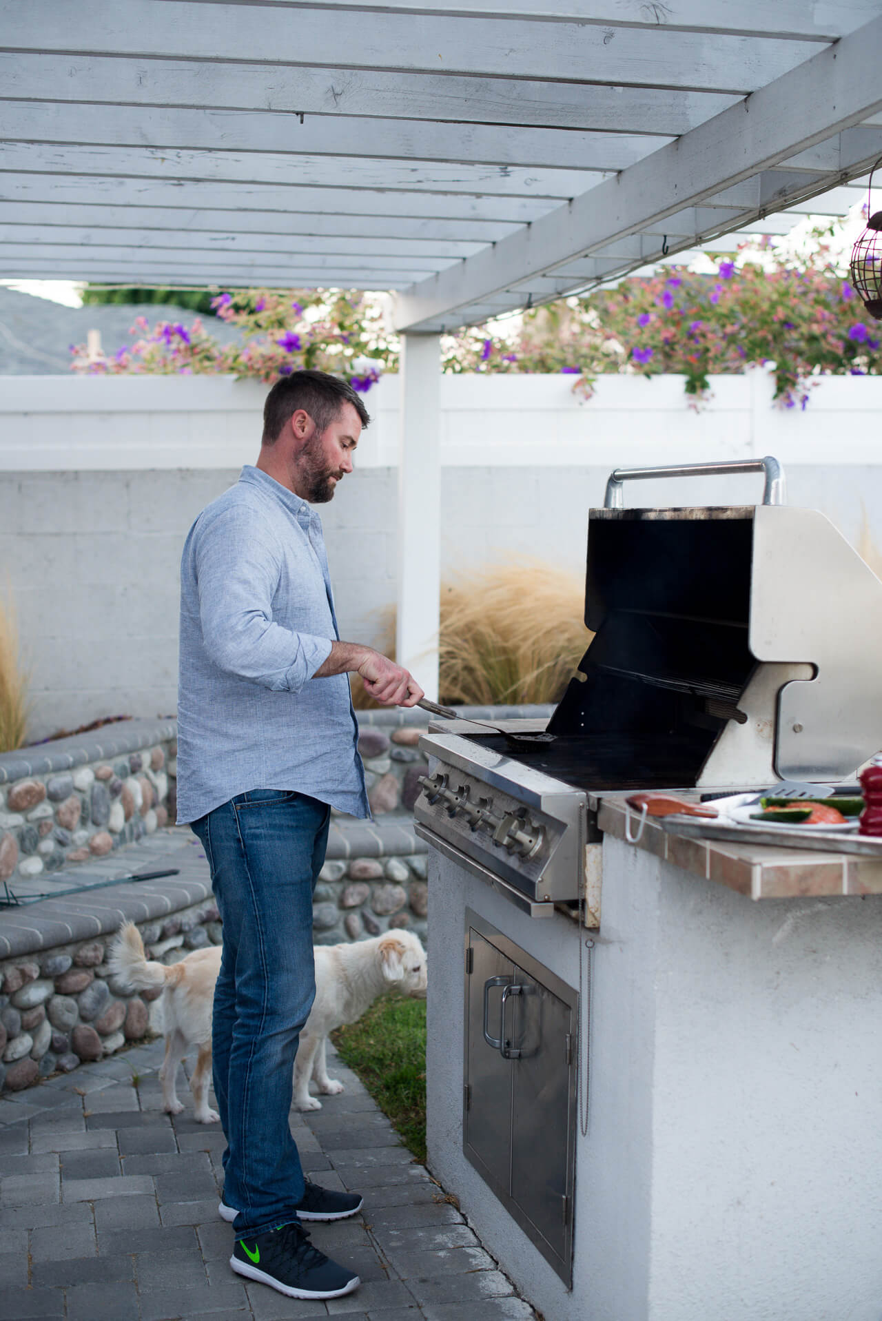 Matthew shares his best grilling tips for summer - M Loves M