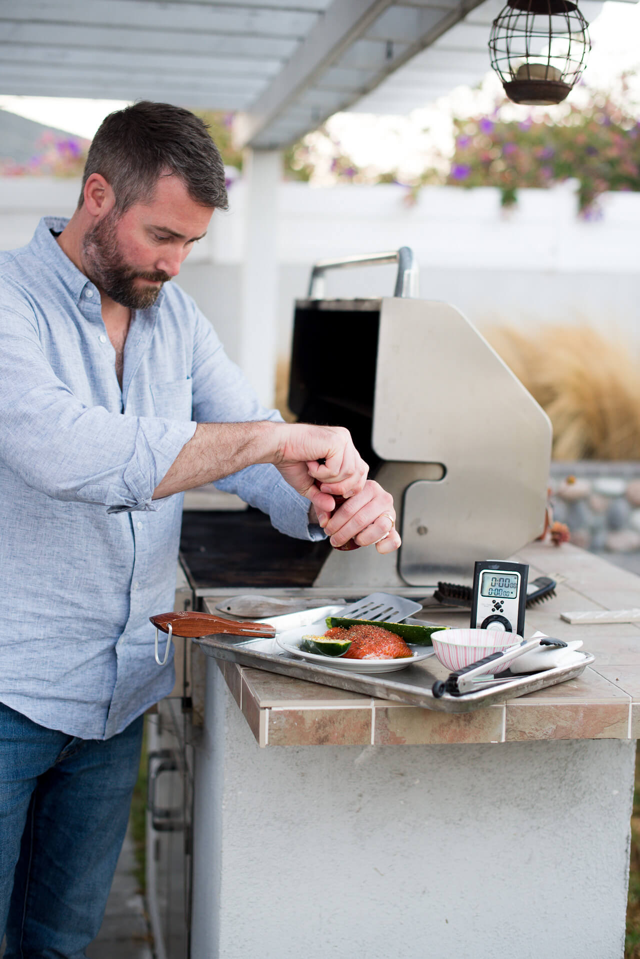 Matthew's Grilling Tips for Summer - M Loves M @marmar