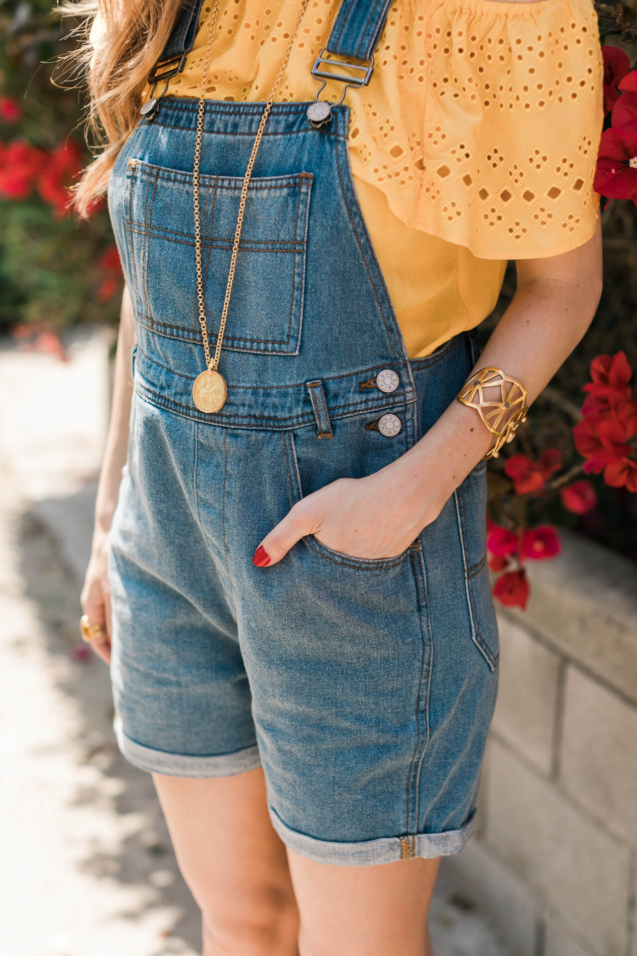 the most comfortable pair of overalls, I can't get enough of these - M Loves M @marmar