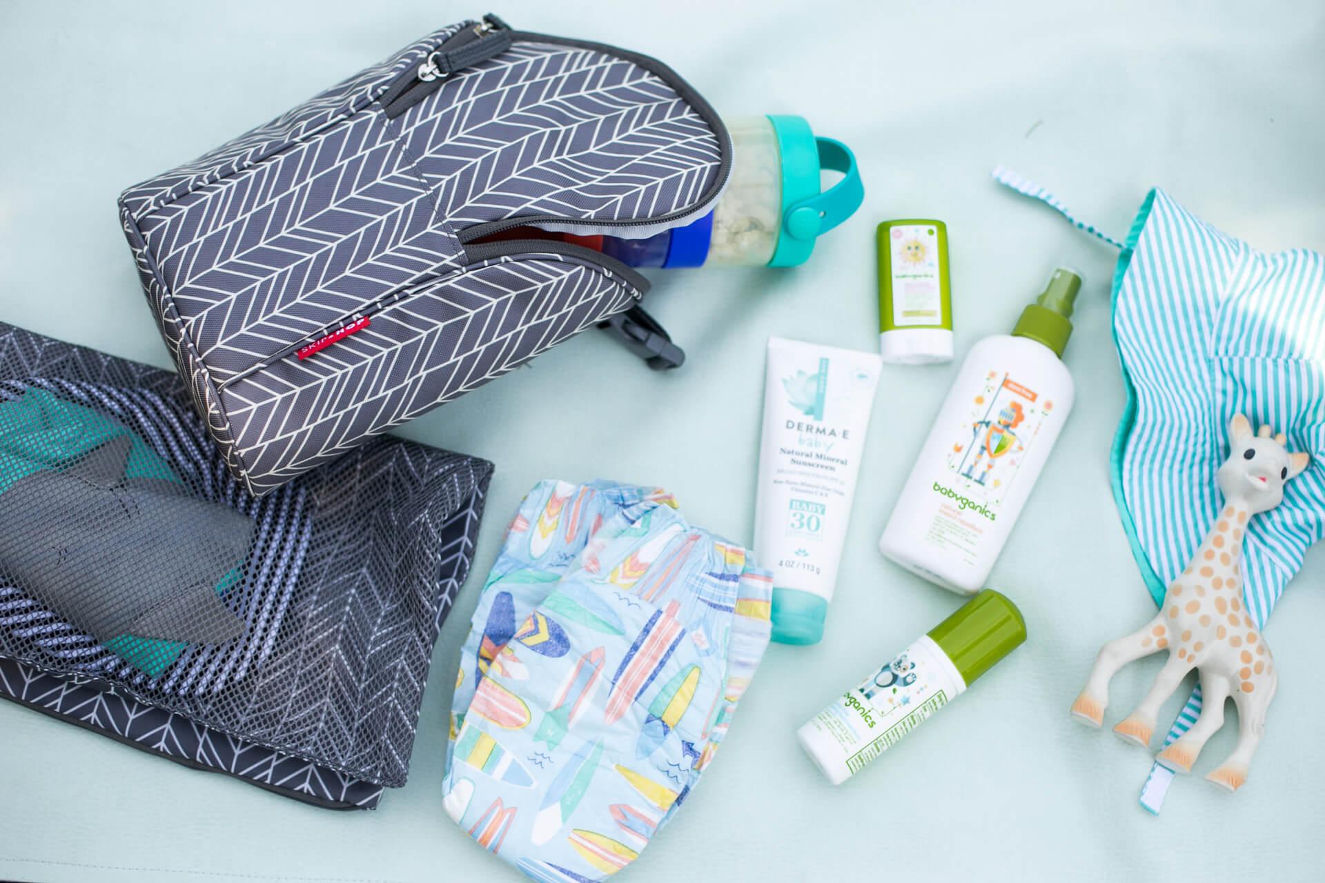 M Loves M summer diaper bag essentials