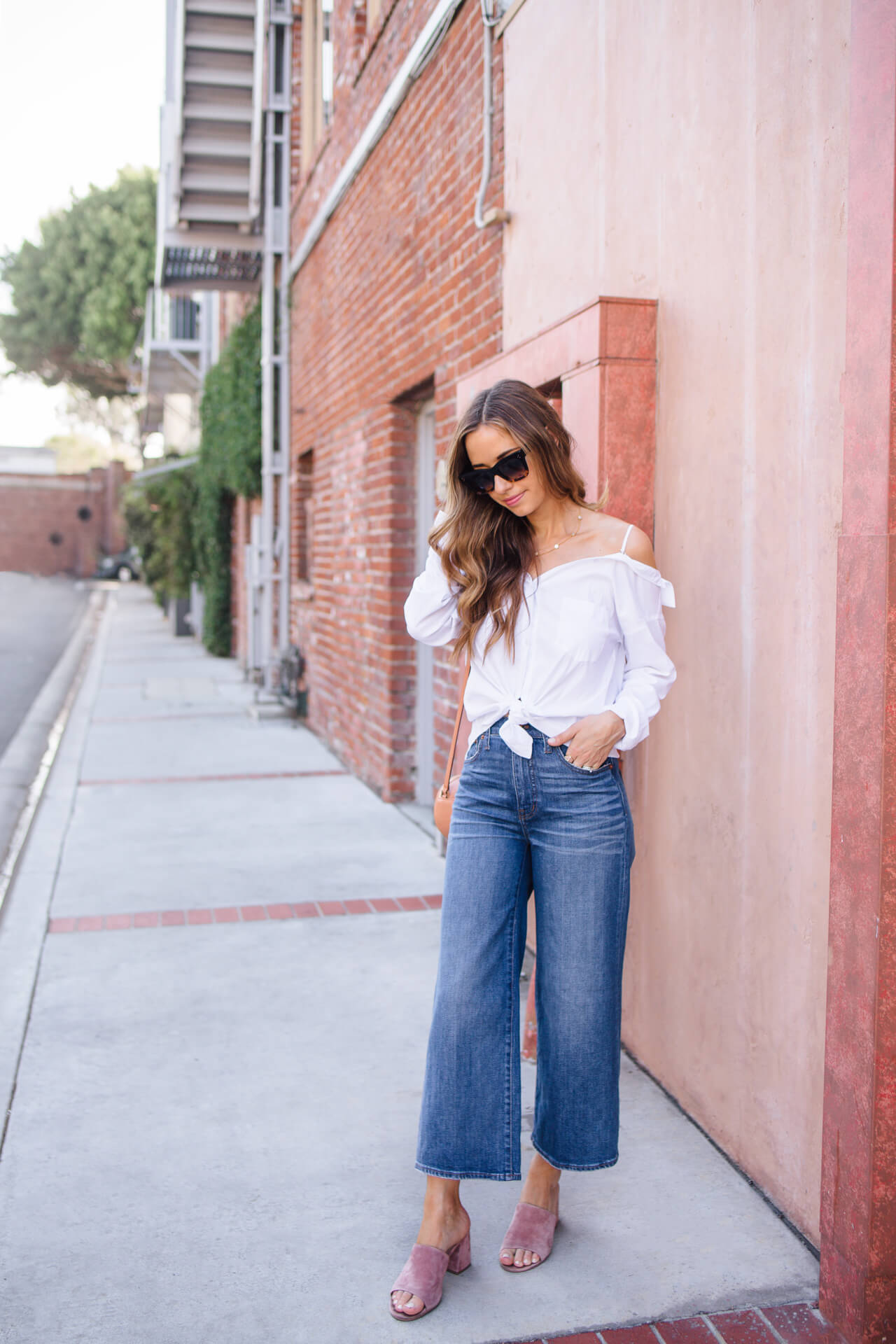 How to Style Wide Leg Jeans | M Loves M - @marmar