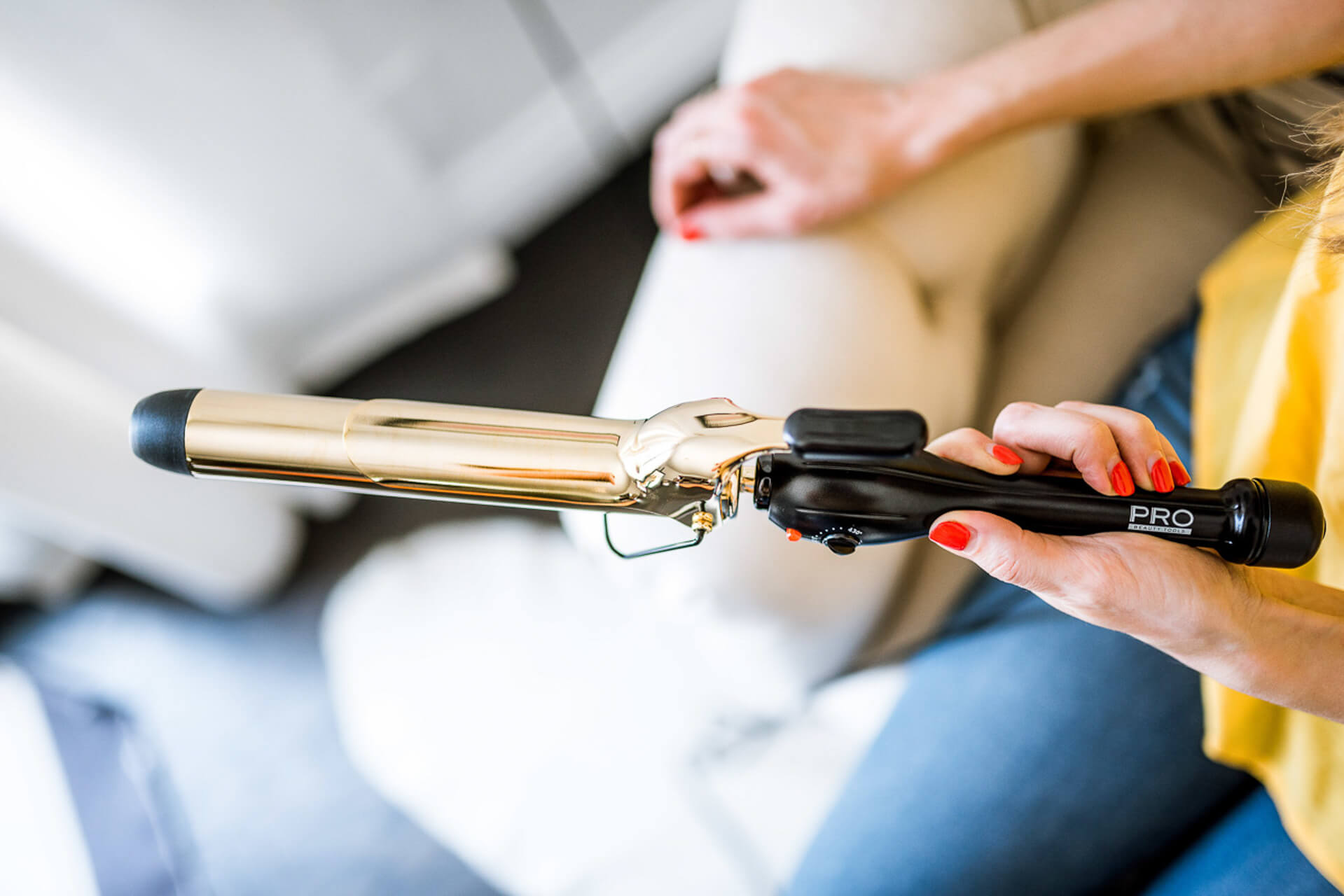 love this pro tools XL curling iron