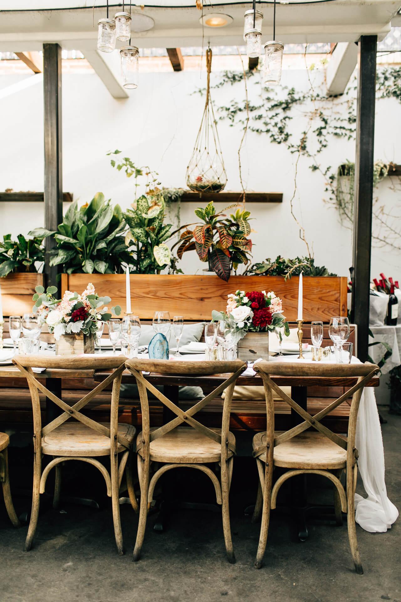restaurant reception in los angeles