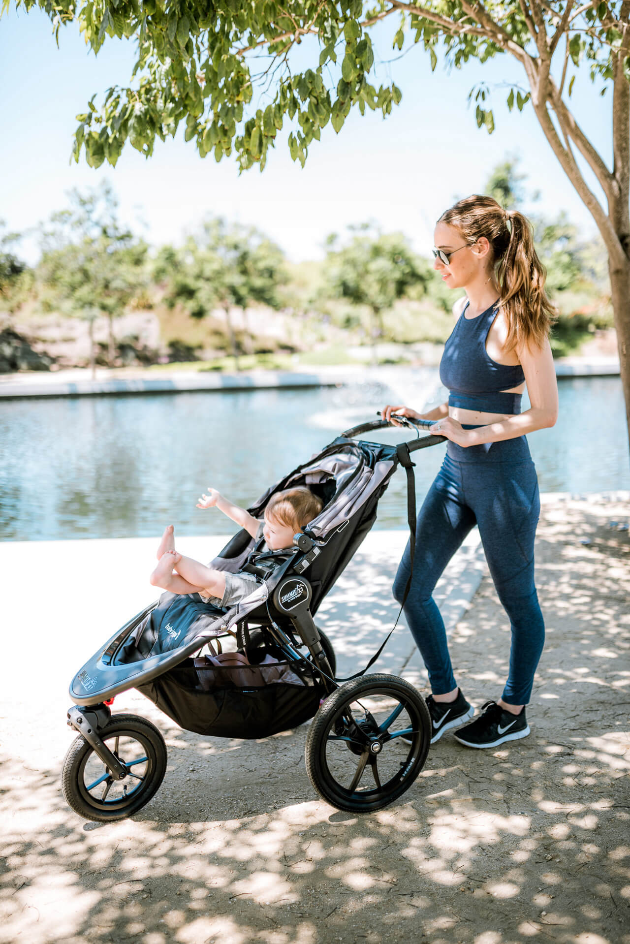 how I'm getting in shape post-baby now up on M Loves M