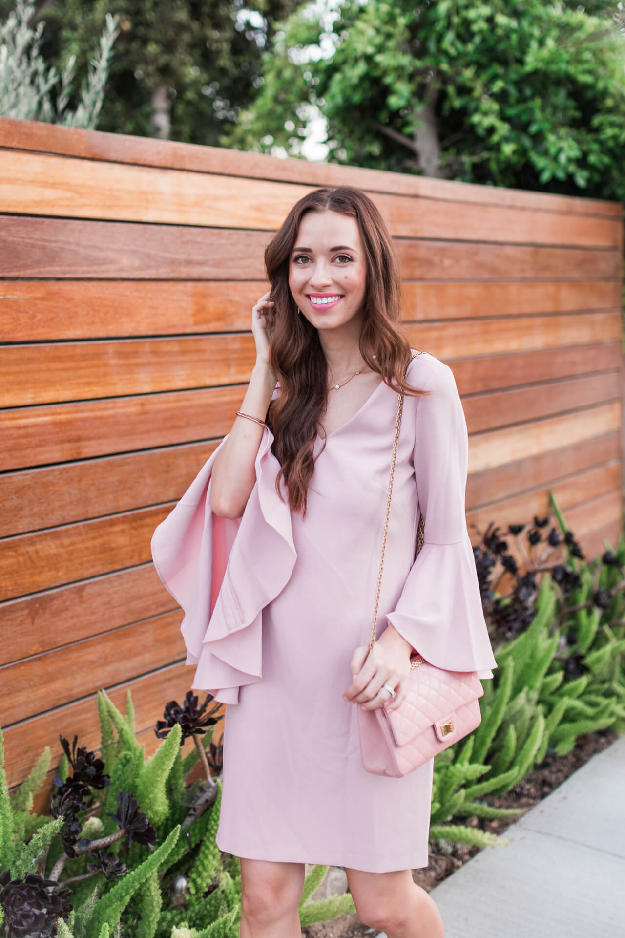 how to wear millennial pink - M Loves M
