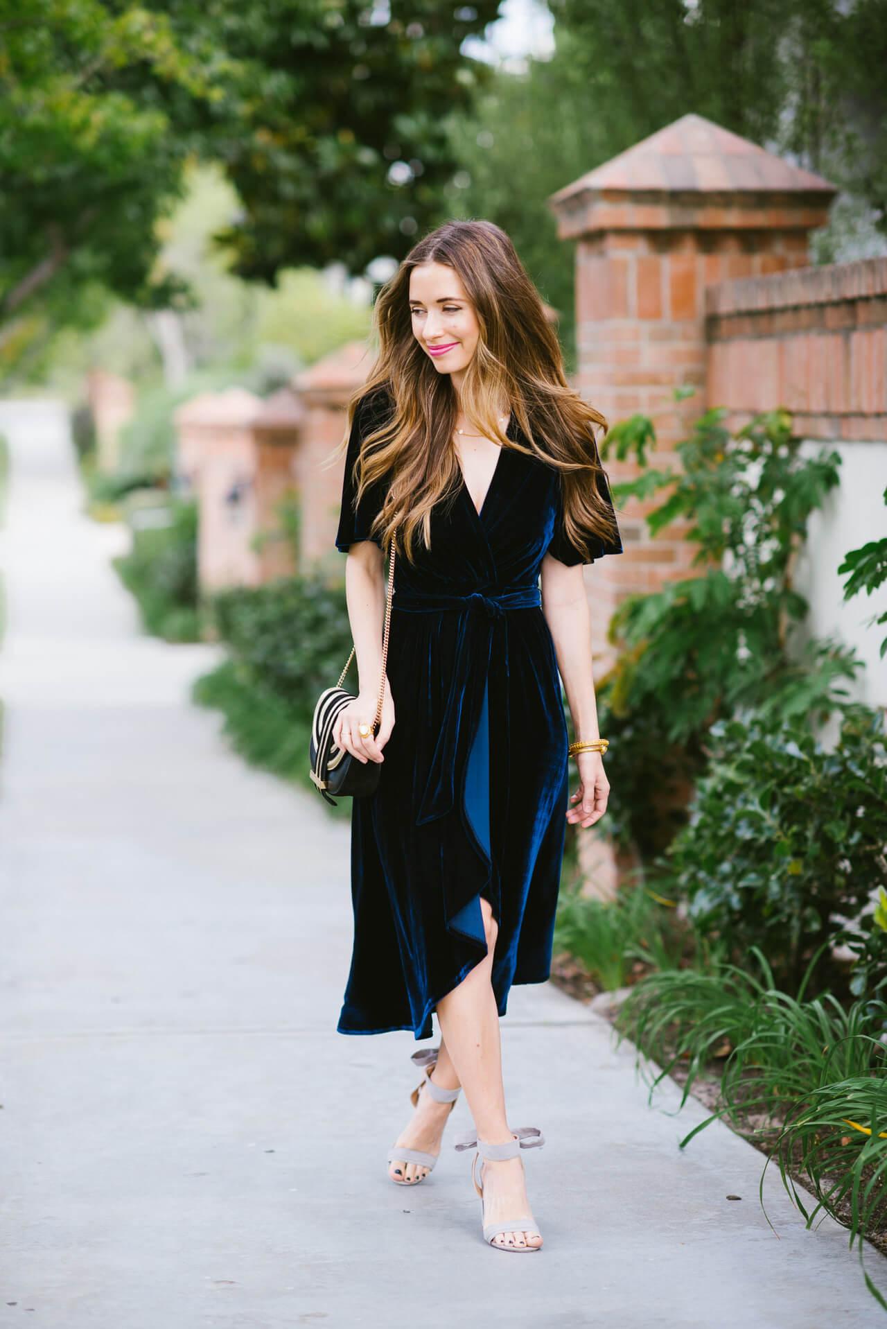 how to style a velvet dress - M Loves M @marmar