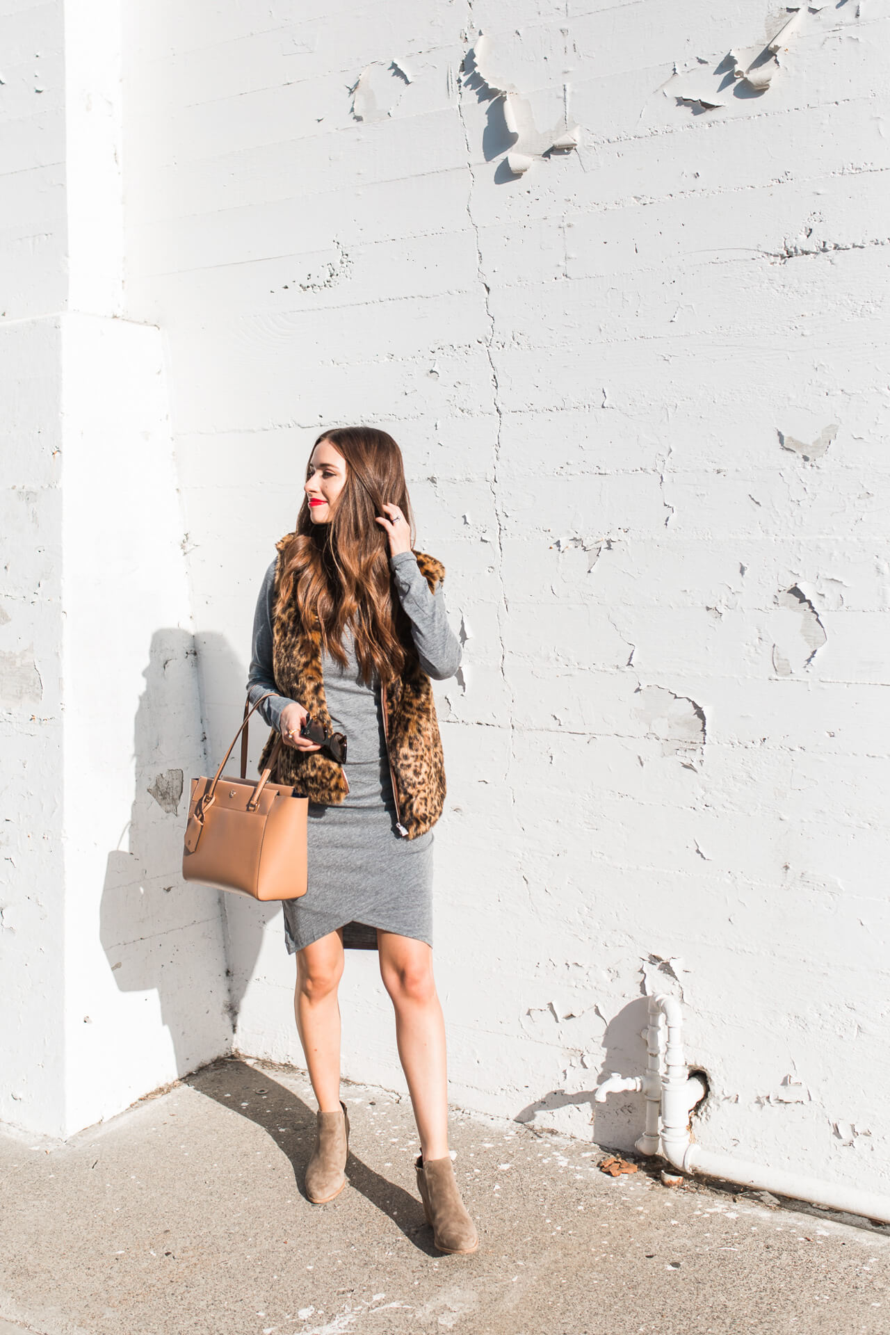 How to style a fall vest for fall - M Loves M