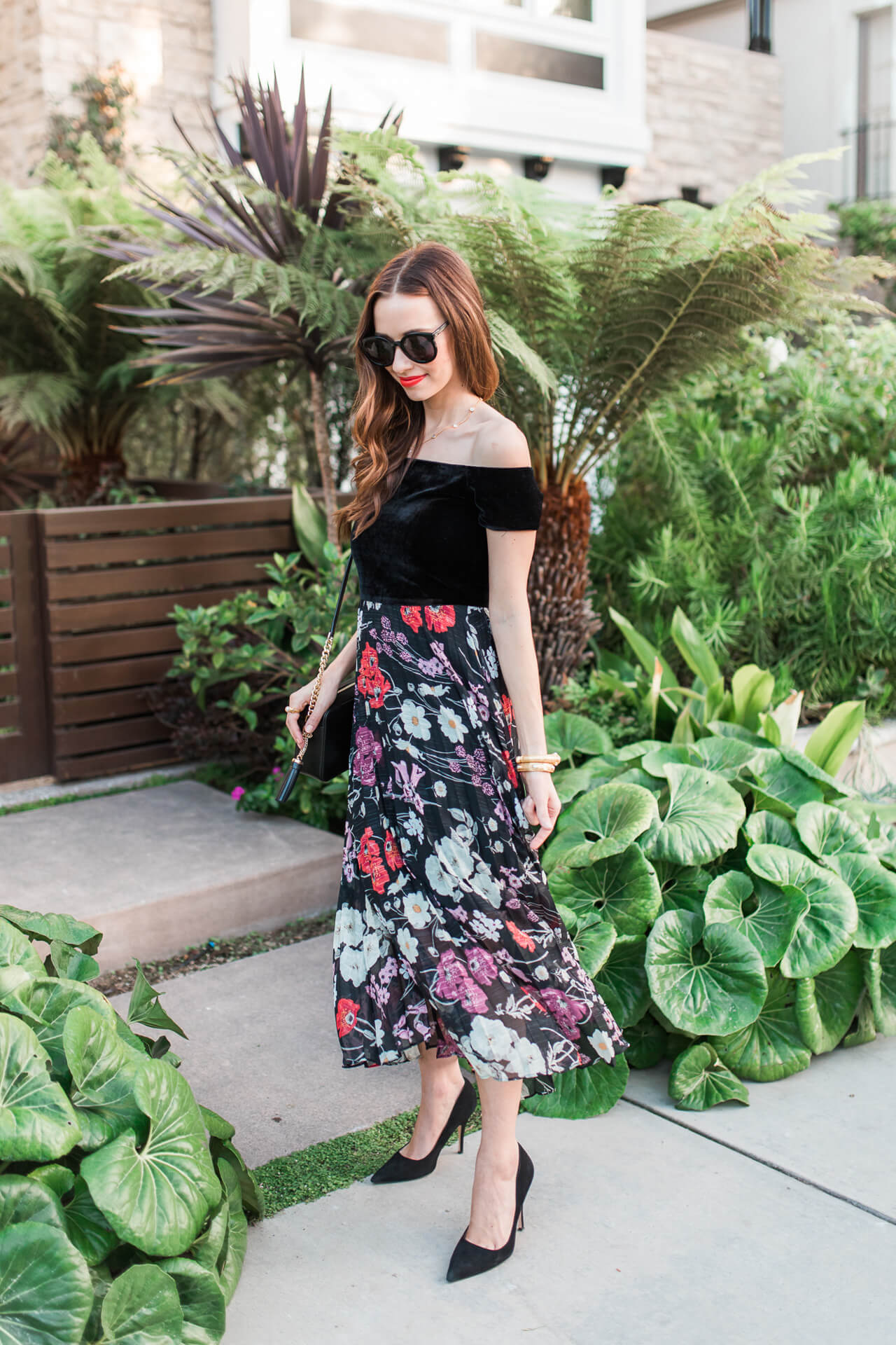 Twirling in a gorgeous dress for fall | M Loves M - @marmar