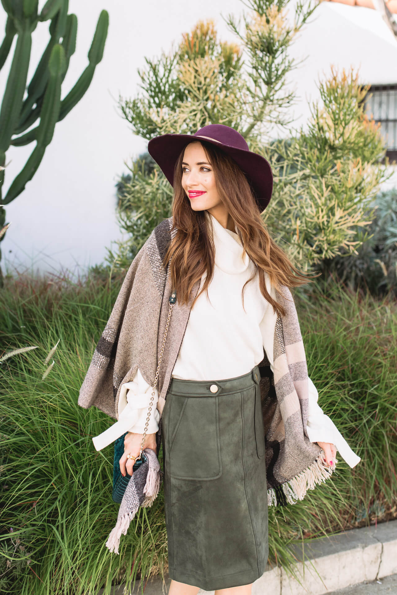 twirling around in this fun poncho - M Loves M @marmar
