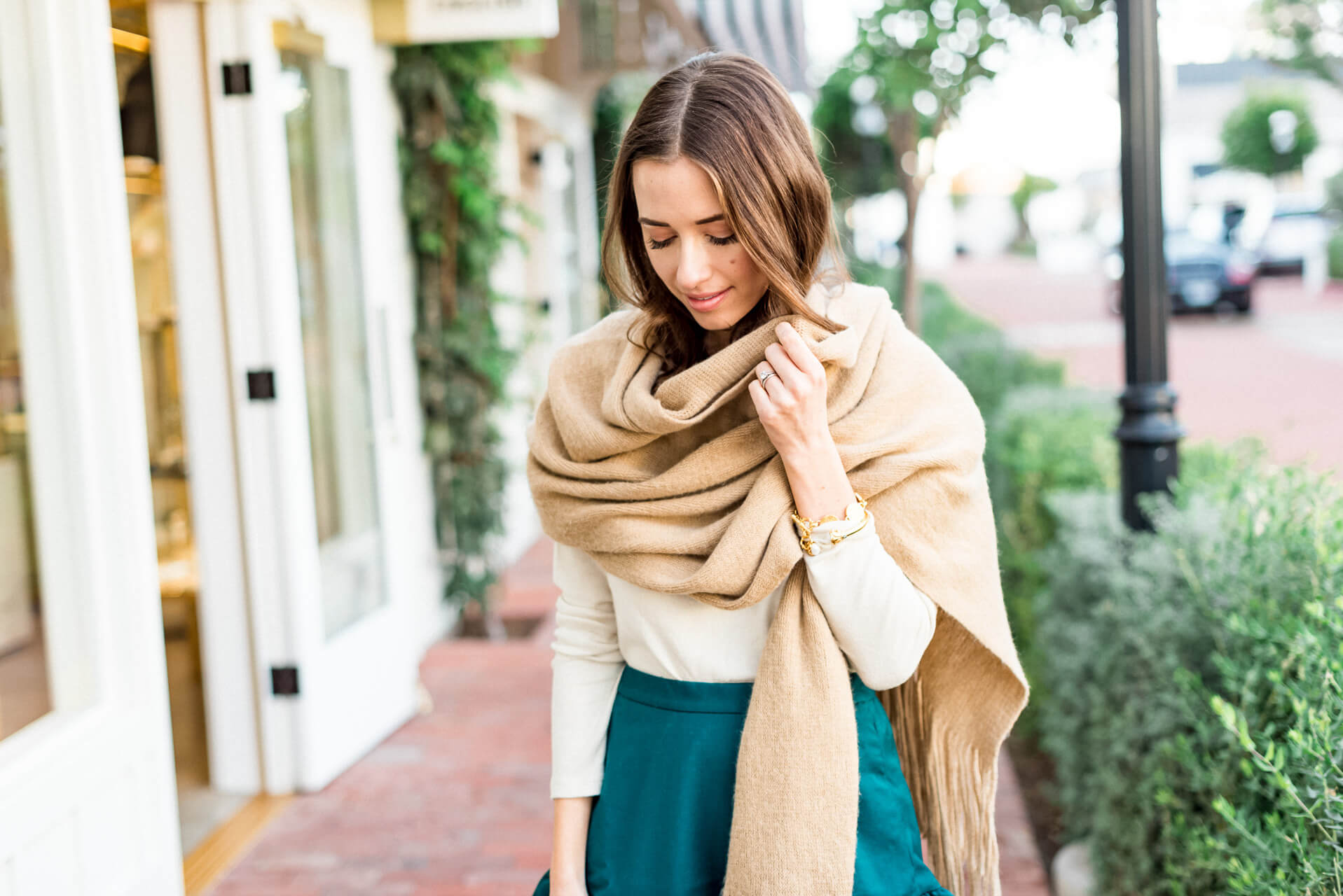 love this scarf with any outfit this fall and winter - M Loves M @marmar