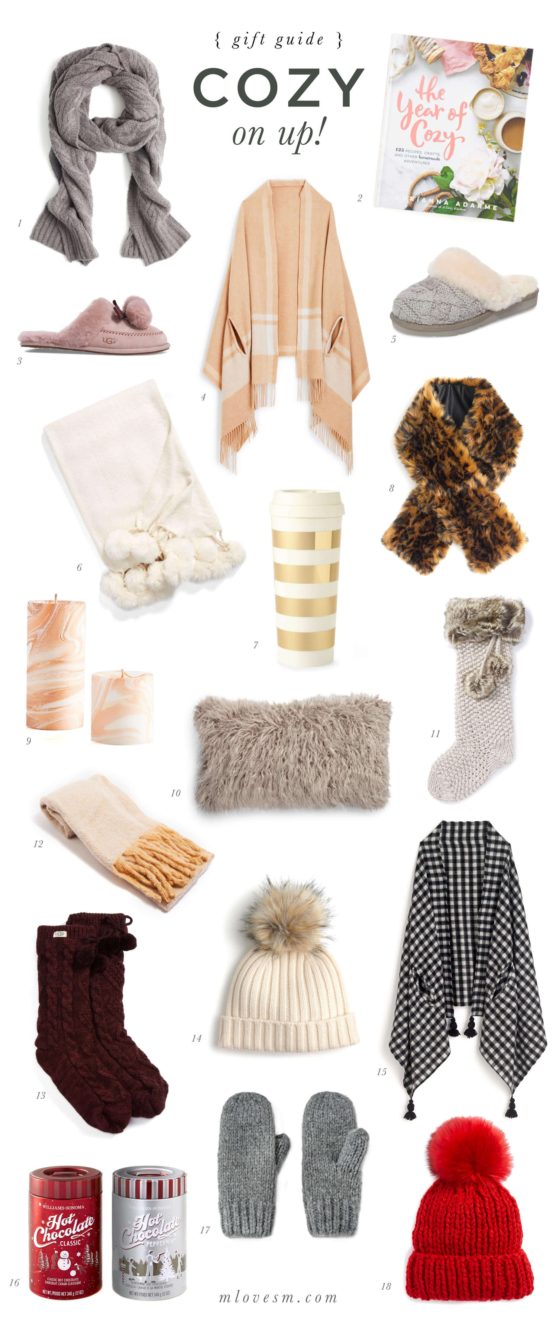 Gift Guide: Cozy On Up - M Loves M @marmar