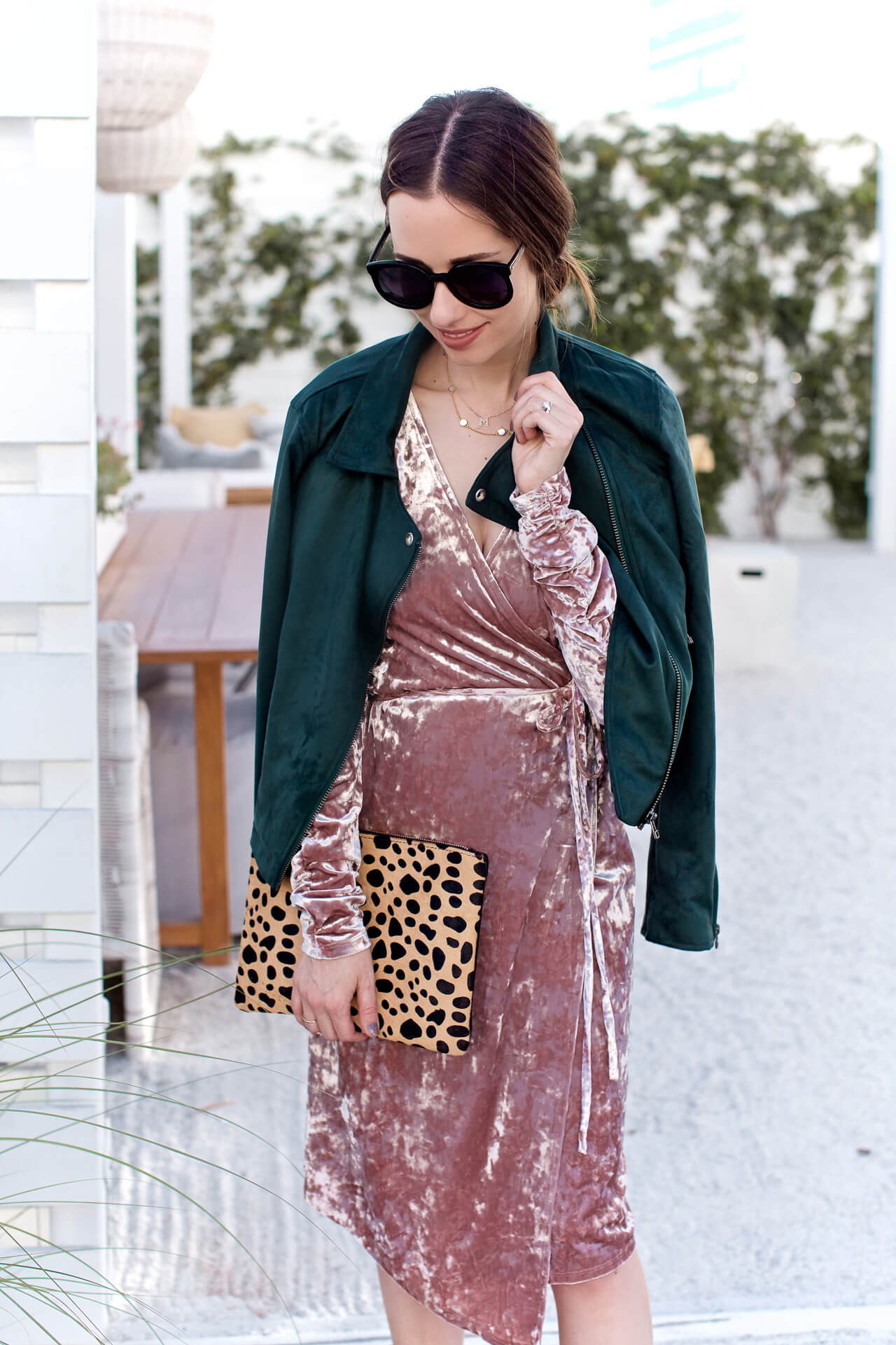 this pink and green combo is a favorite of mine - M Loves M @marmar