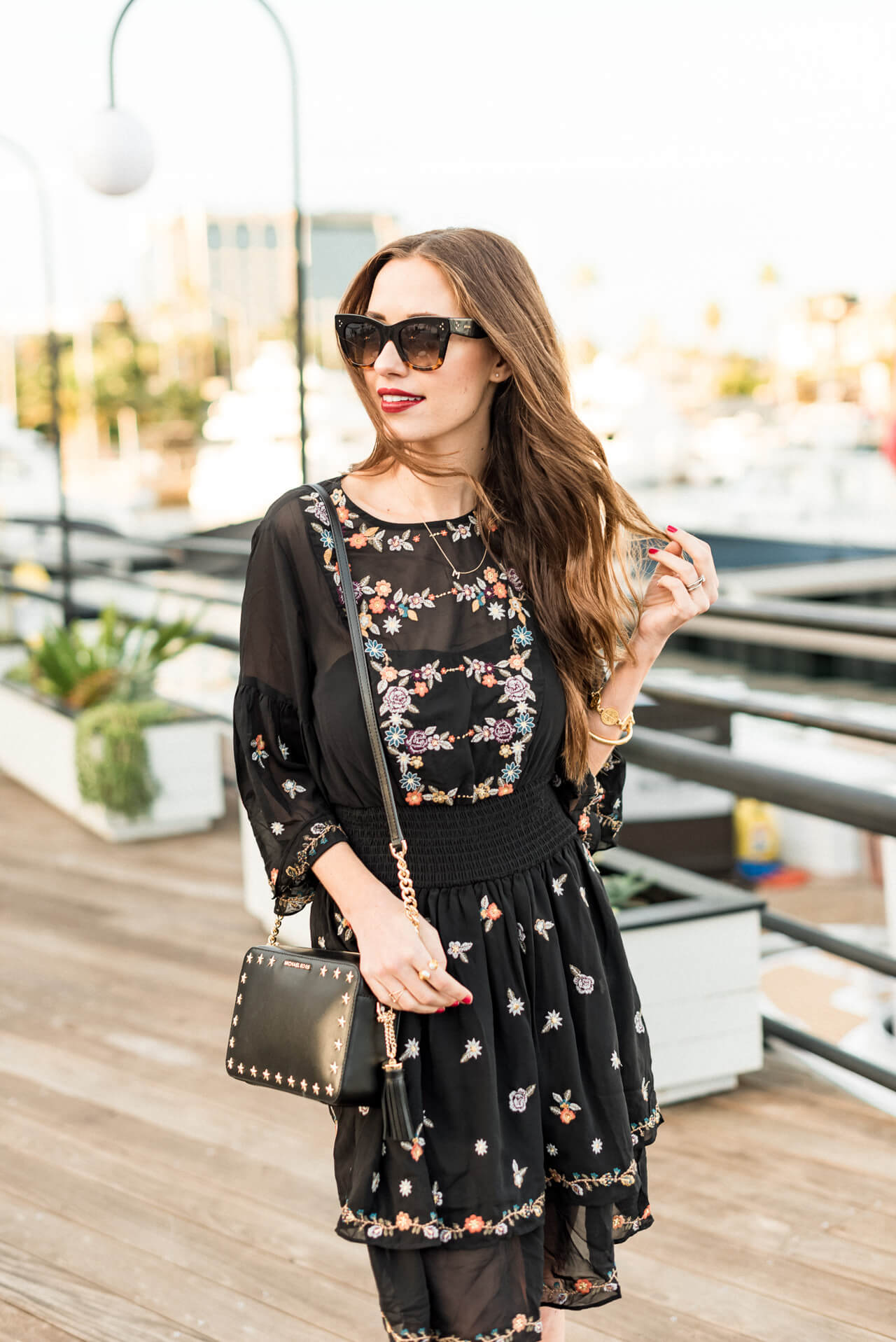 styling this gorgeous boho dress for fall + 10 other fall dresses under $100! - M Loves M @marmar