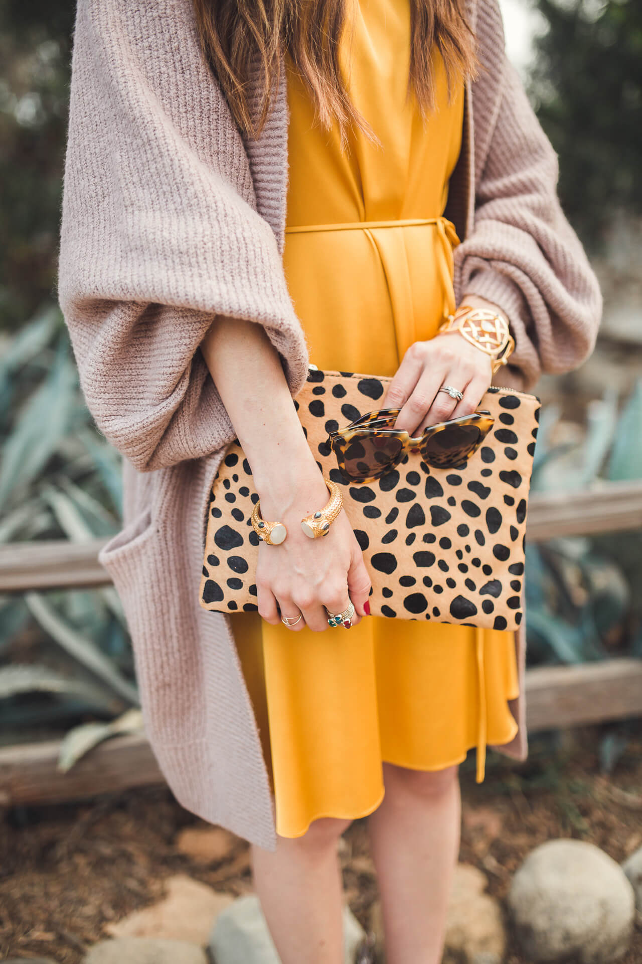 this leopard clutch is so cute and affordable! It's under $50!