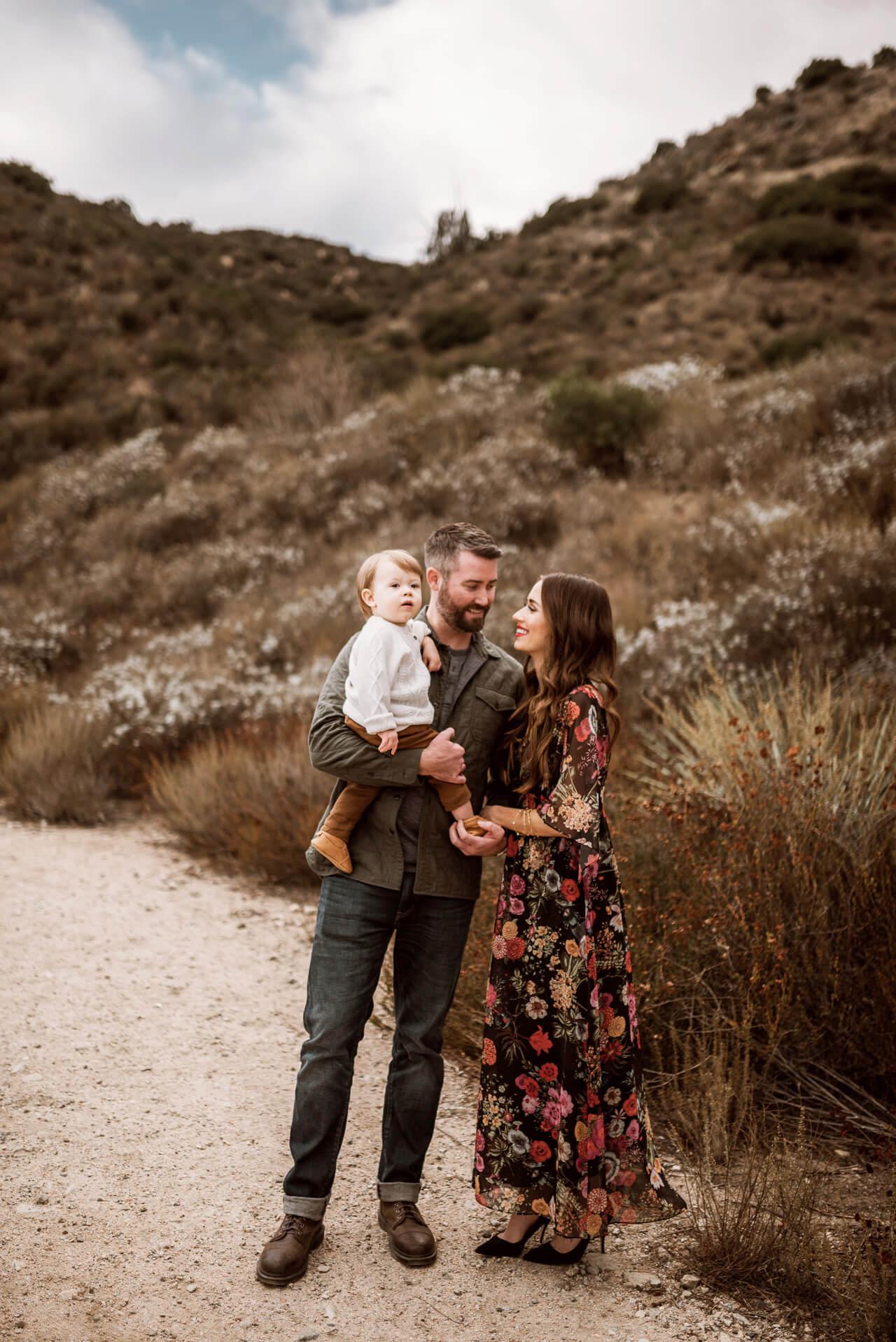 family photos of Mara Ferreira - LA/OC Mom and Fashion Blogger