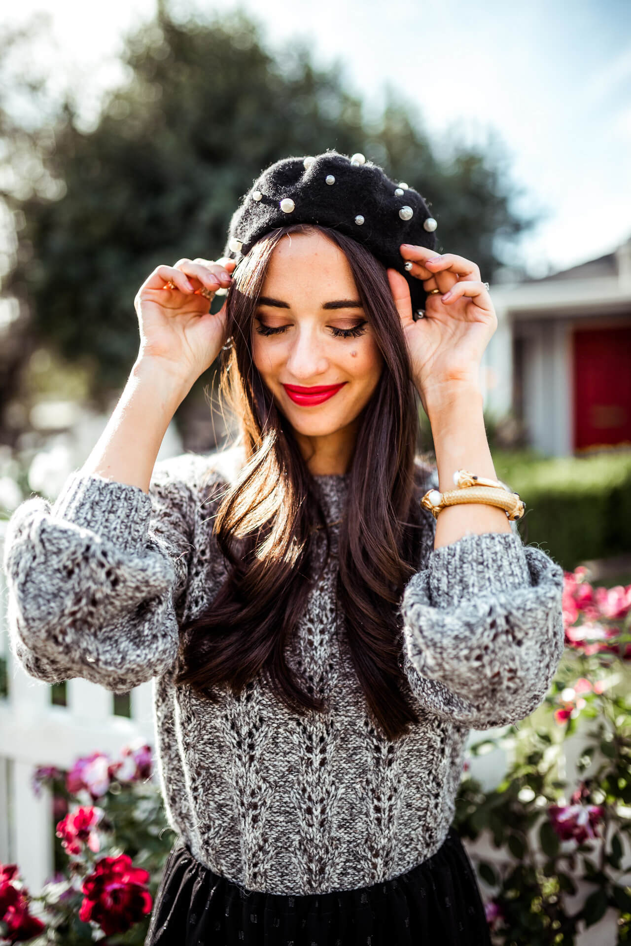 update your hair looks with a beret - M Loves M @marmar
