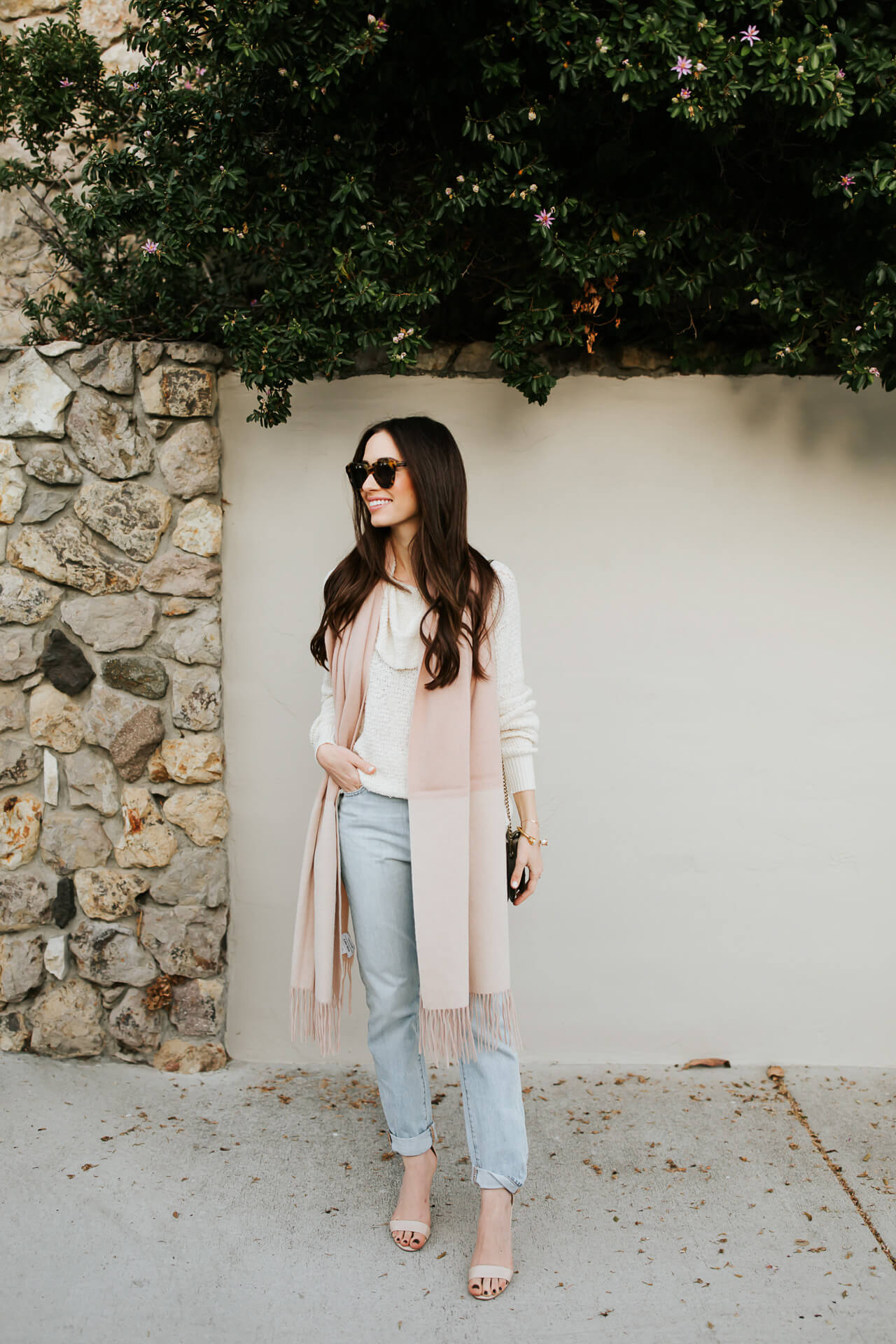 LA Fashion Blogger styles neutral for winter -  M Loves M @marmar