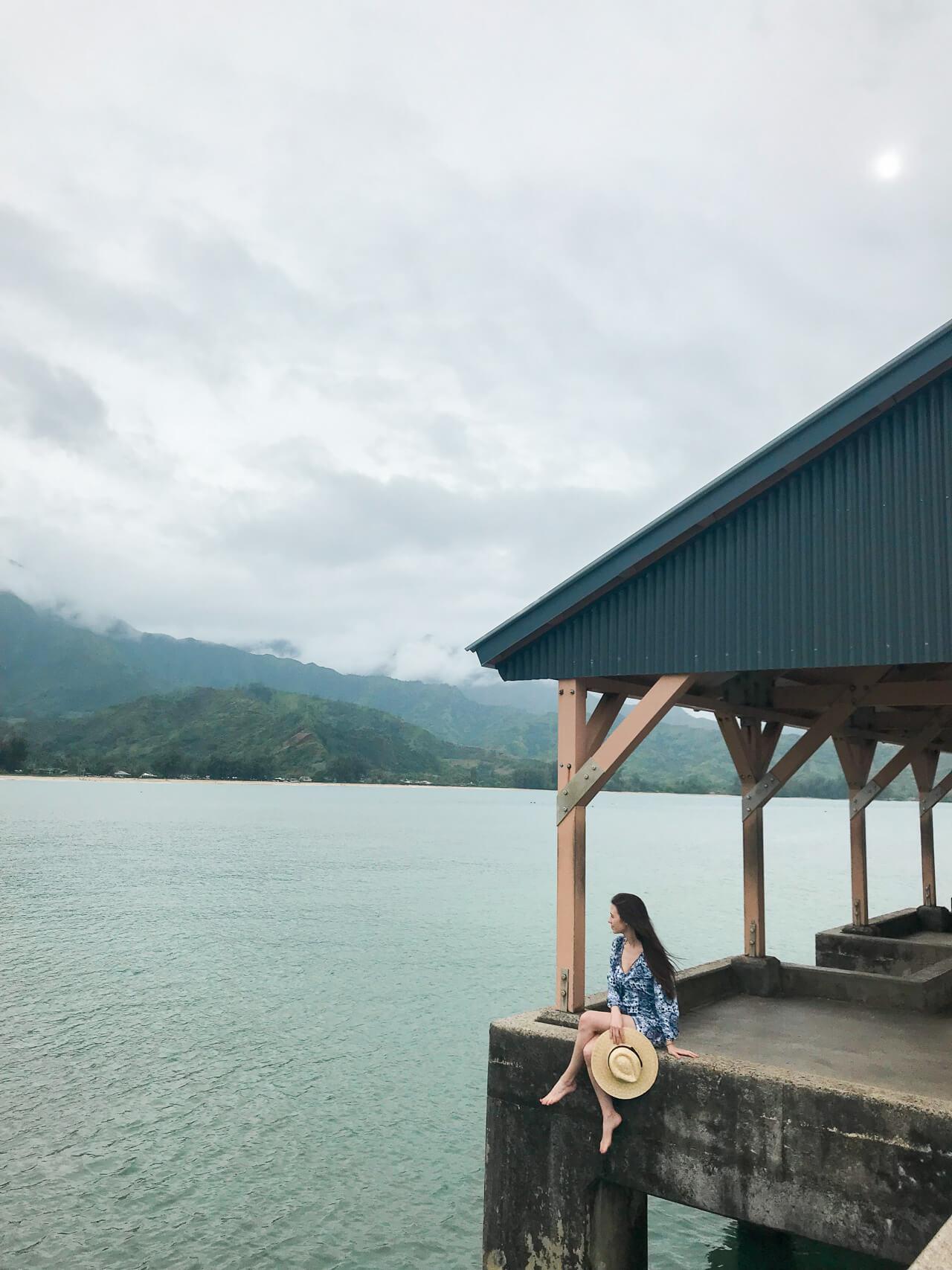 hanalei pier in kauai - M Loves M Kauai Travel Diary @marmar