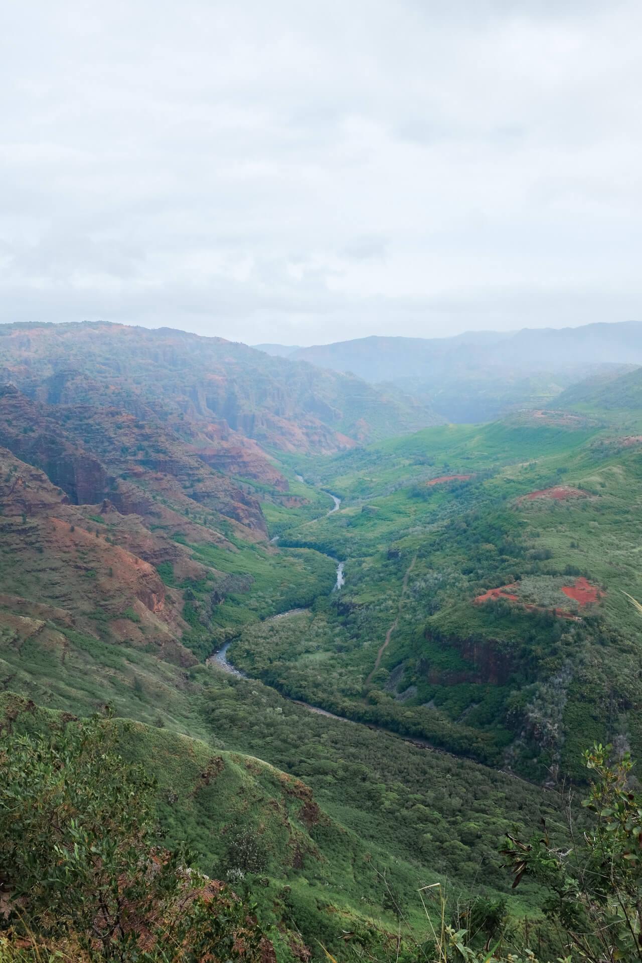 Waimea canyon - Kauai's Grand Canyon