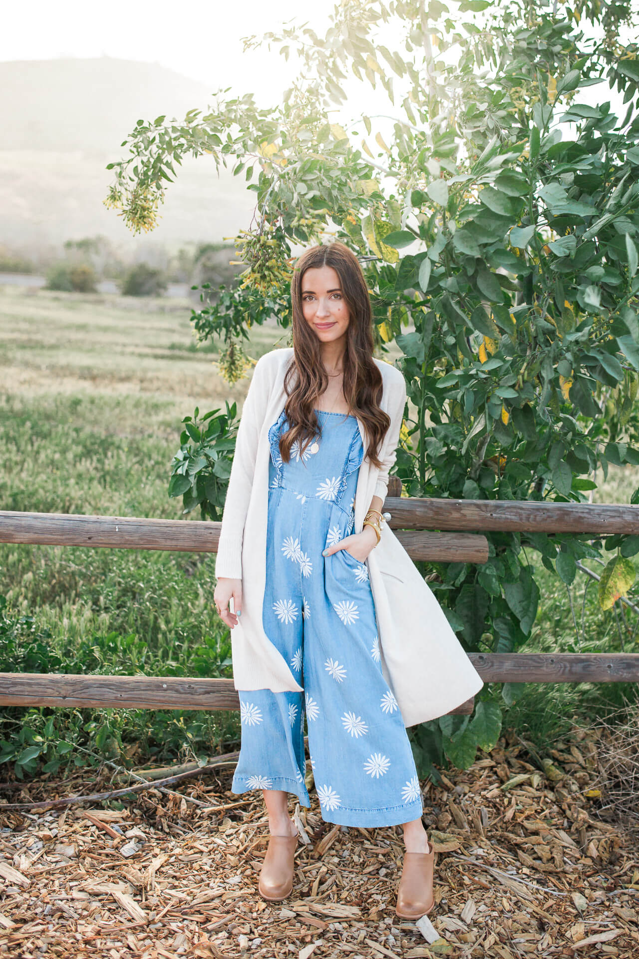 boho feminine outfit inspiration for spring on M Loves M Los Angeles fashion blogger @marmar