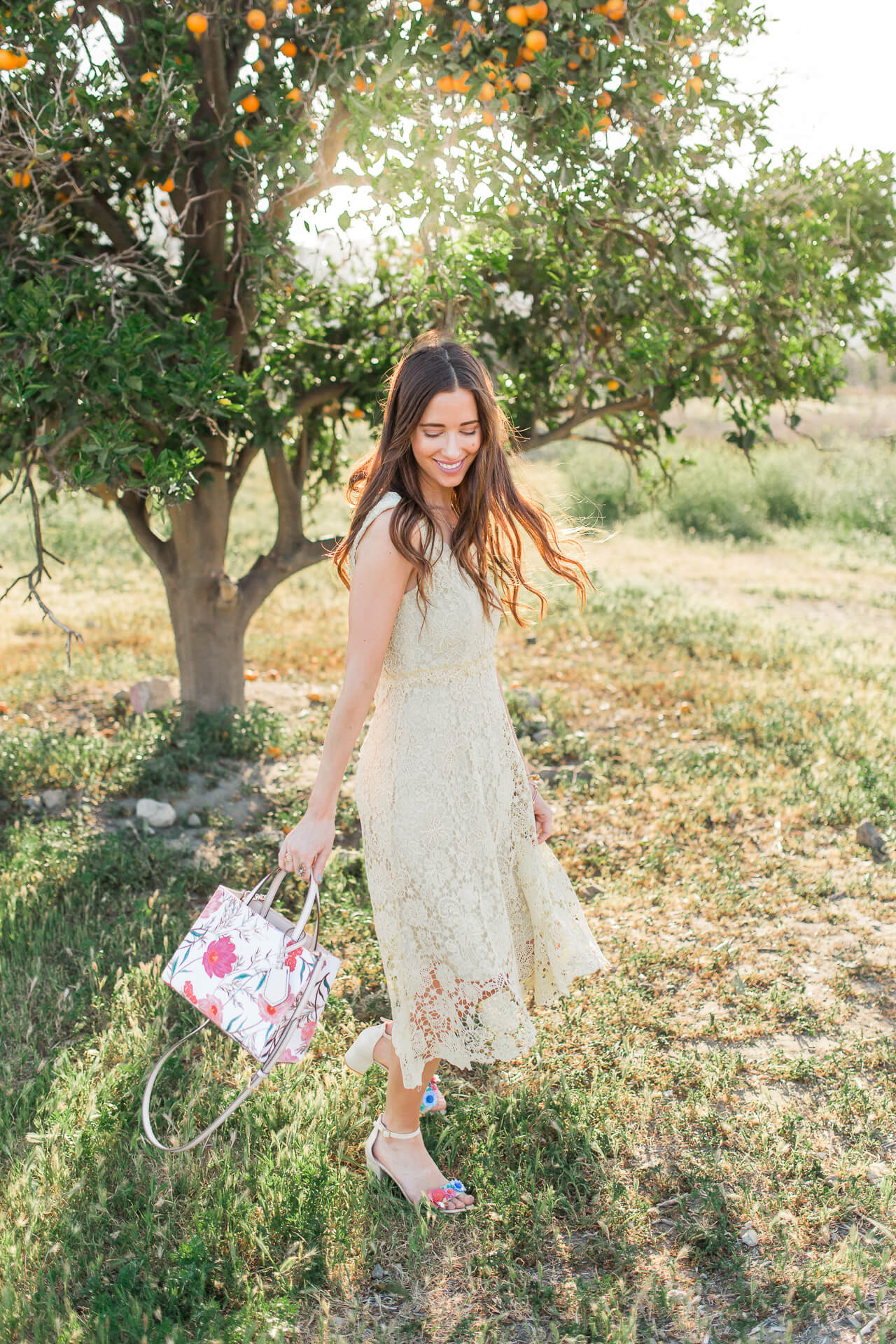 feminine and classic style - outfit inspiration for spring from M Loves M Orange County blogger