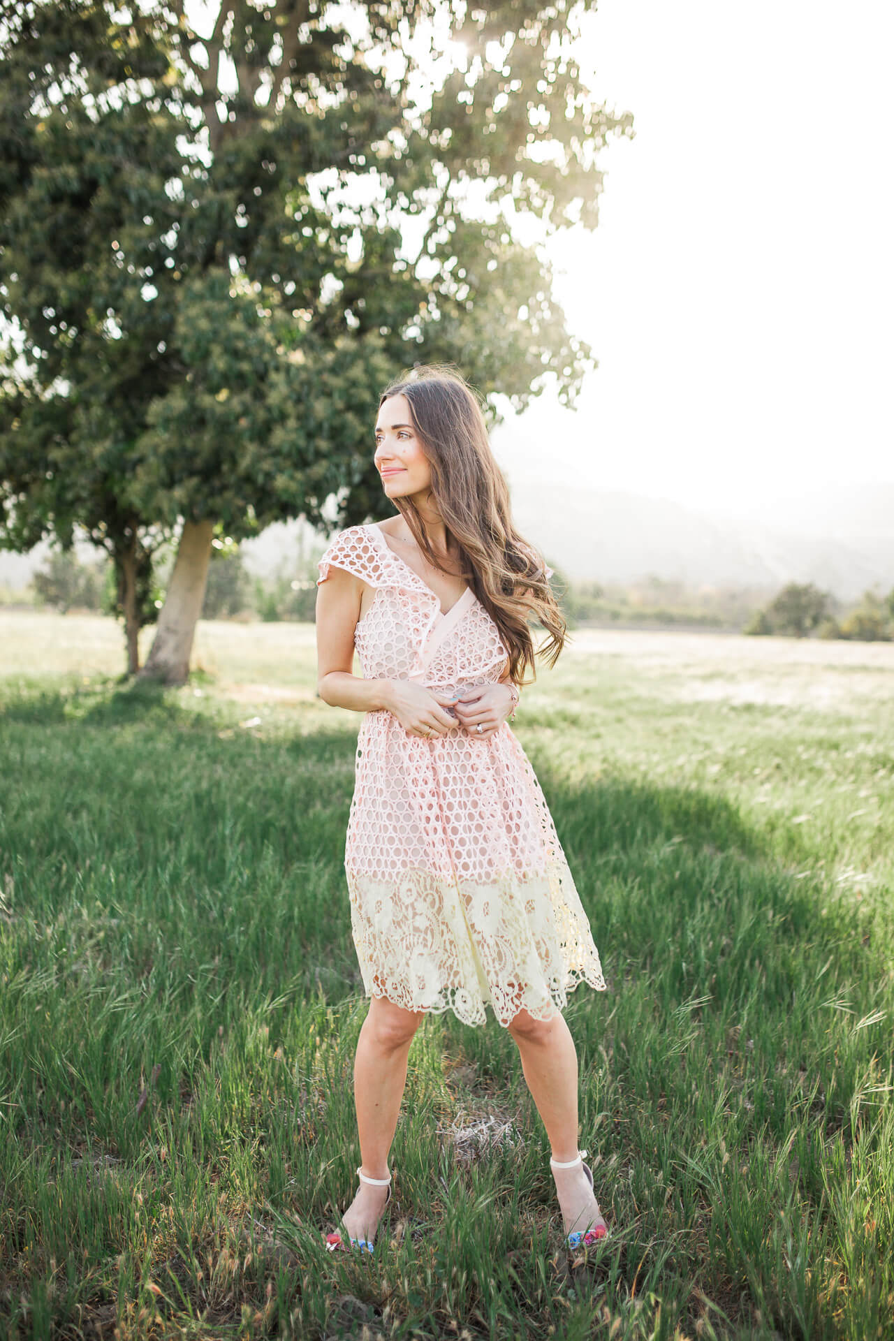 a unique and pretty dress for spring parties - M Loves M