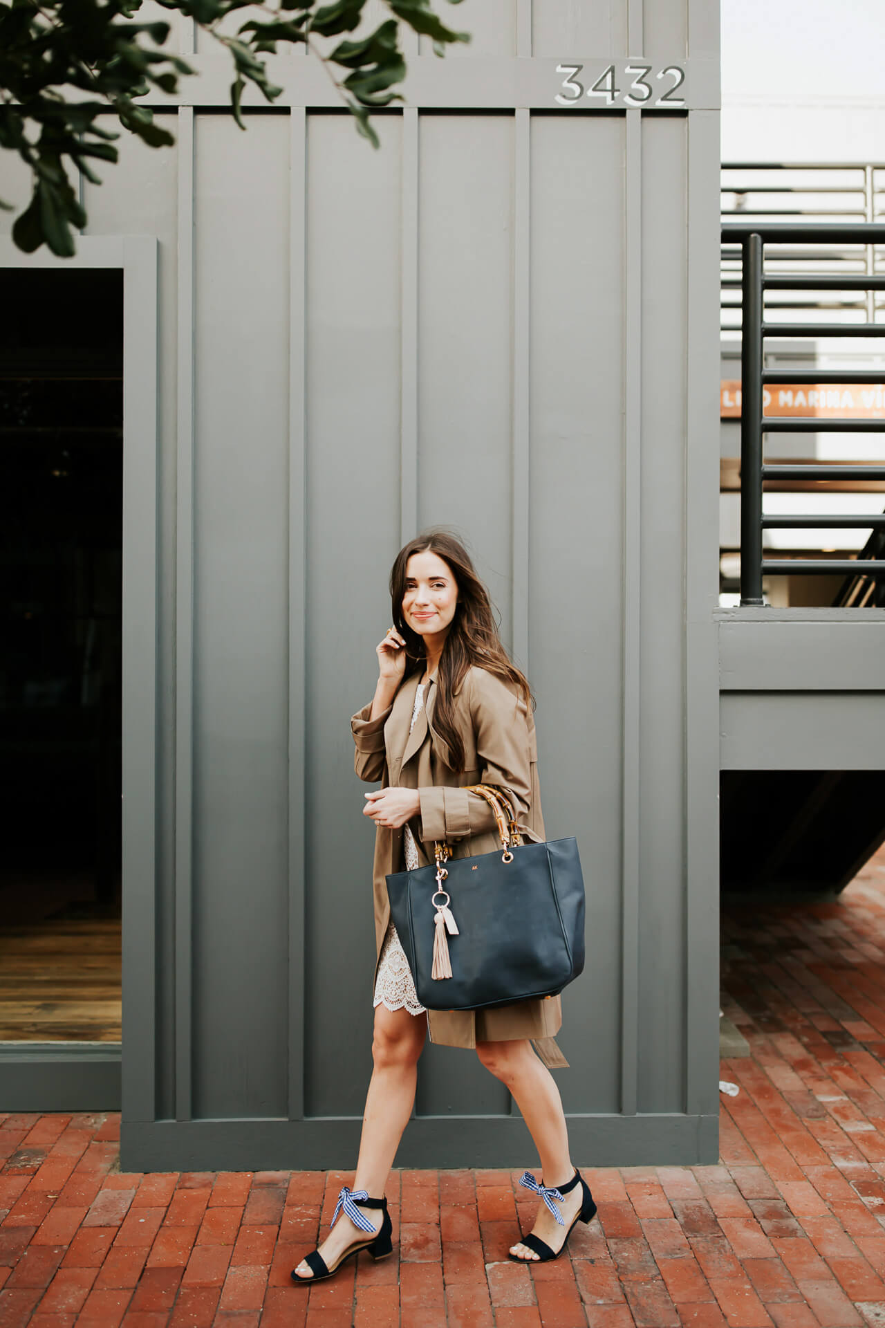 the secret to a perfect Mother's Day gift + how to wear a trench coat for spring in Los Angeles - M Loves M @marmar
