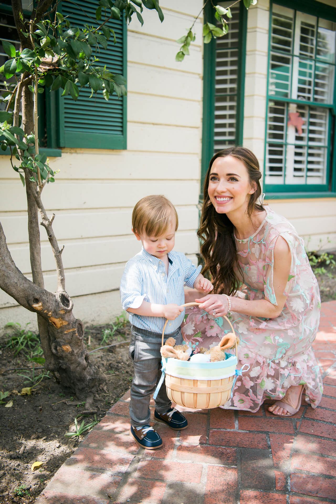 Mommy and Son Easter  photo - M Loves M OC and LA fashion, lifestyle and motherhood blogger @marmar