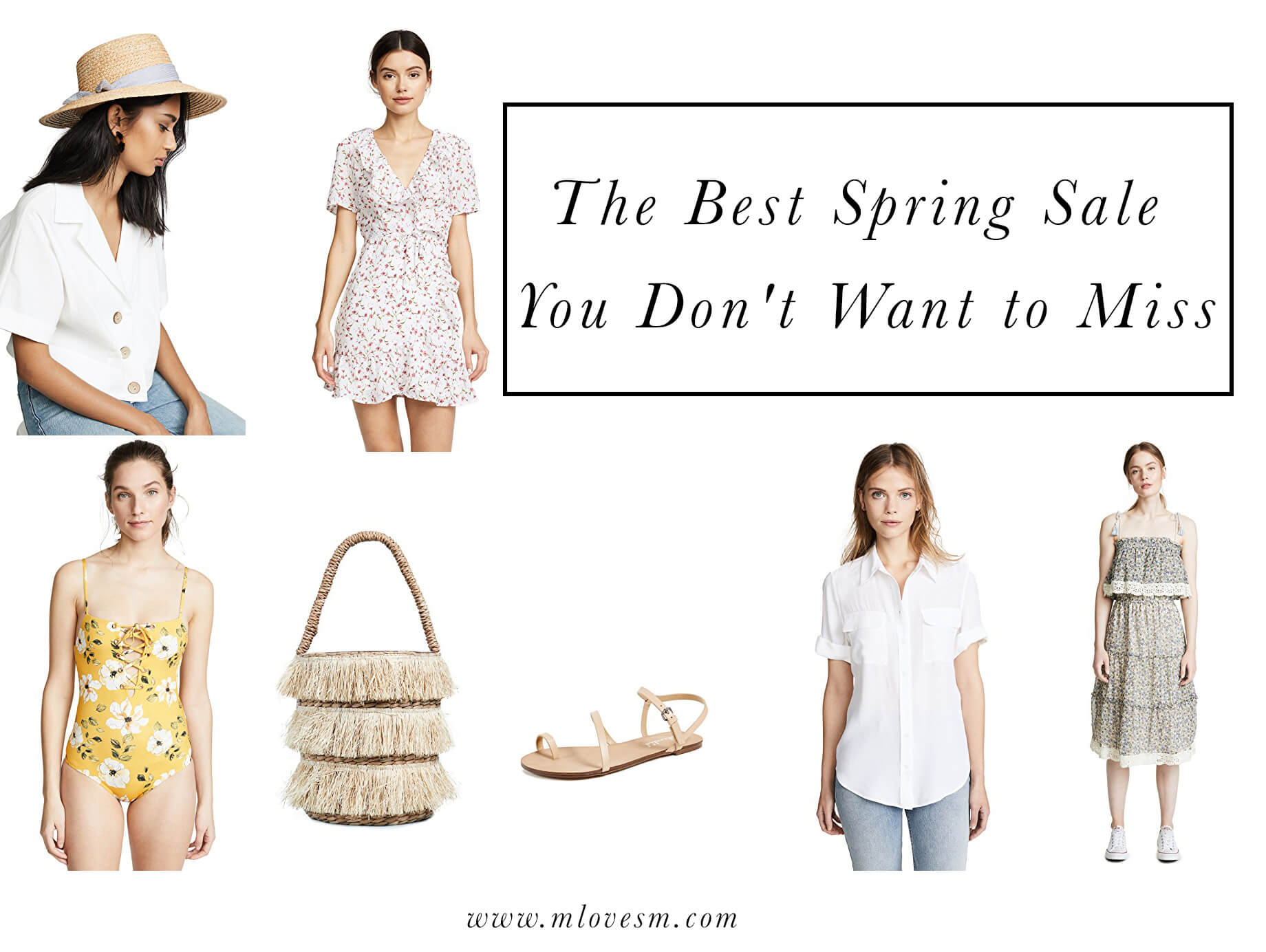 The Best Spring Sale You Don't Want to Miss - M Loves M