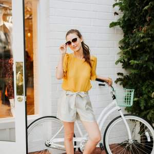1 Pair of Dressy Shorts Styled 2 Ways - M Loves M @marmar