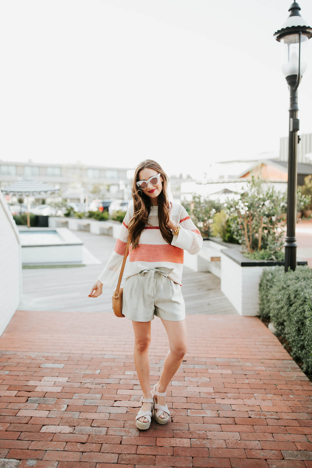how to wear shorts when it's not that hot yet - M Loves M @marmar