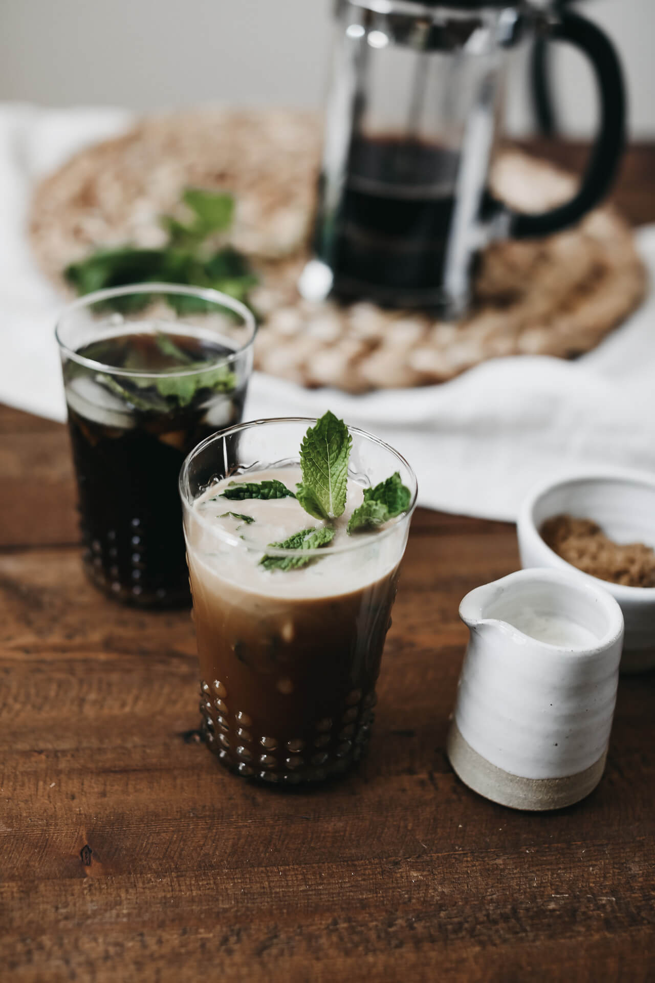 This mint iced coffee is so refreshing. | M Loves M @marmar