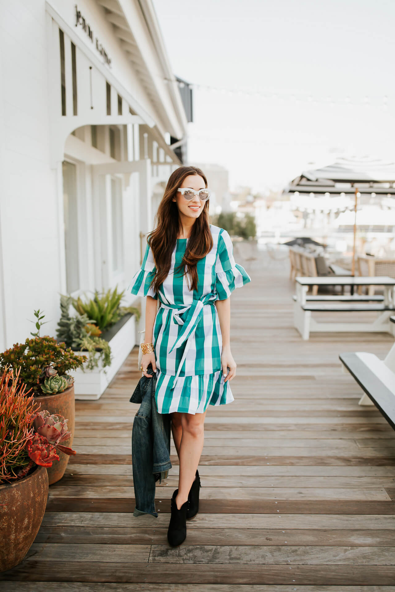 Loving all the gingham and checkered summer style inspo this year!   M Loves M @marmar