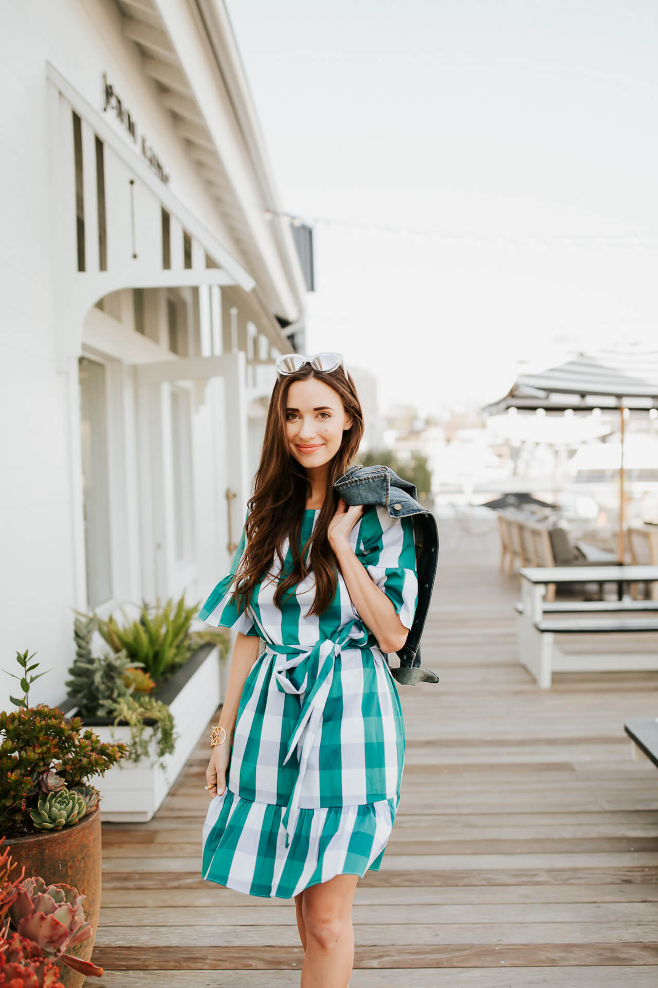 Be the belle of the backyard garden party this year in a thoroughly charming dress that lets the ruffles and bows fully flow.   M Loves M @marmar