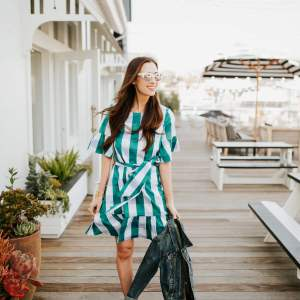 Gingham Style - Who else loves wearing gingham prints for spring? | M Loves M @marmar