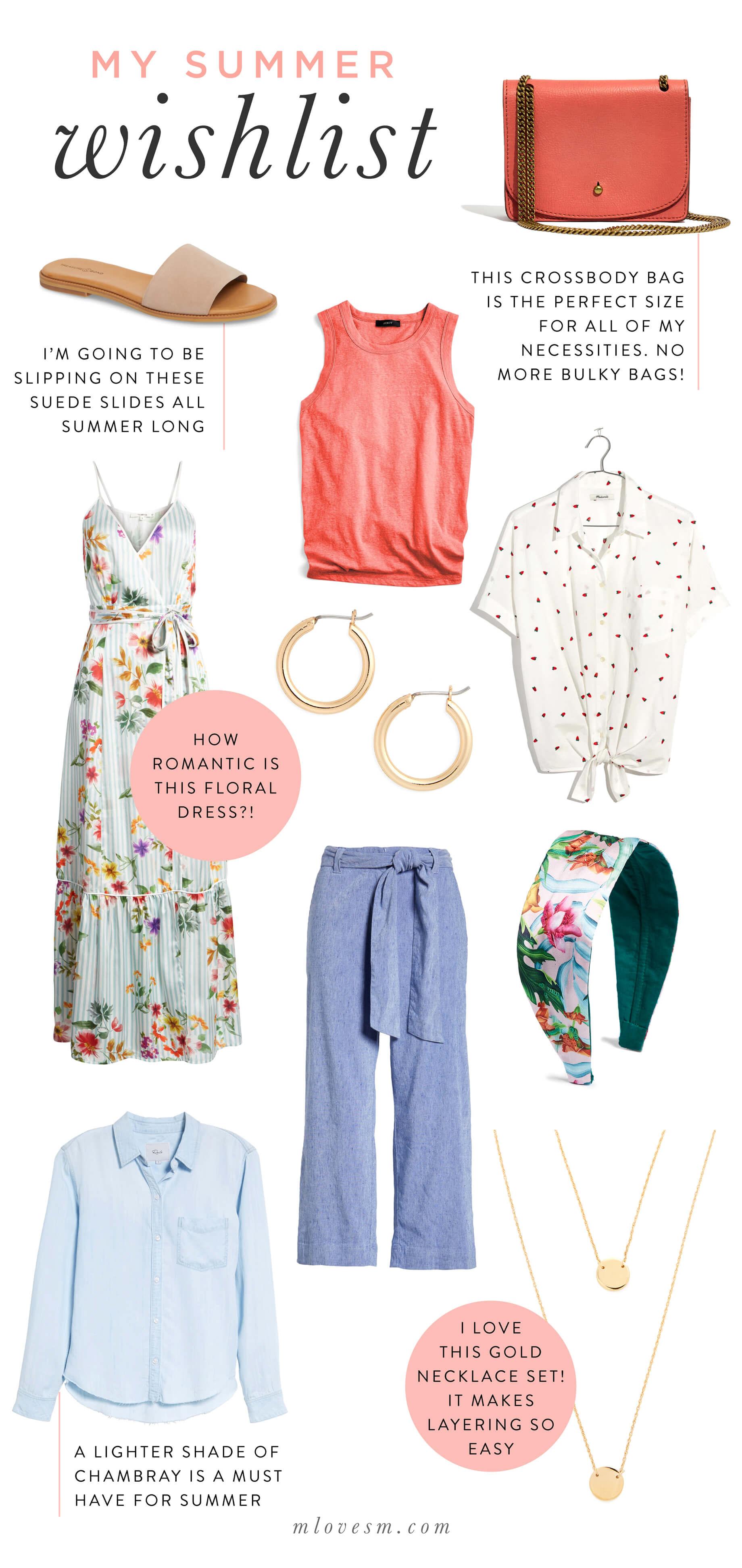 0fe3d9779661e My Summer Trends Wishlist | M Loves M | Bloglovin'