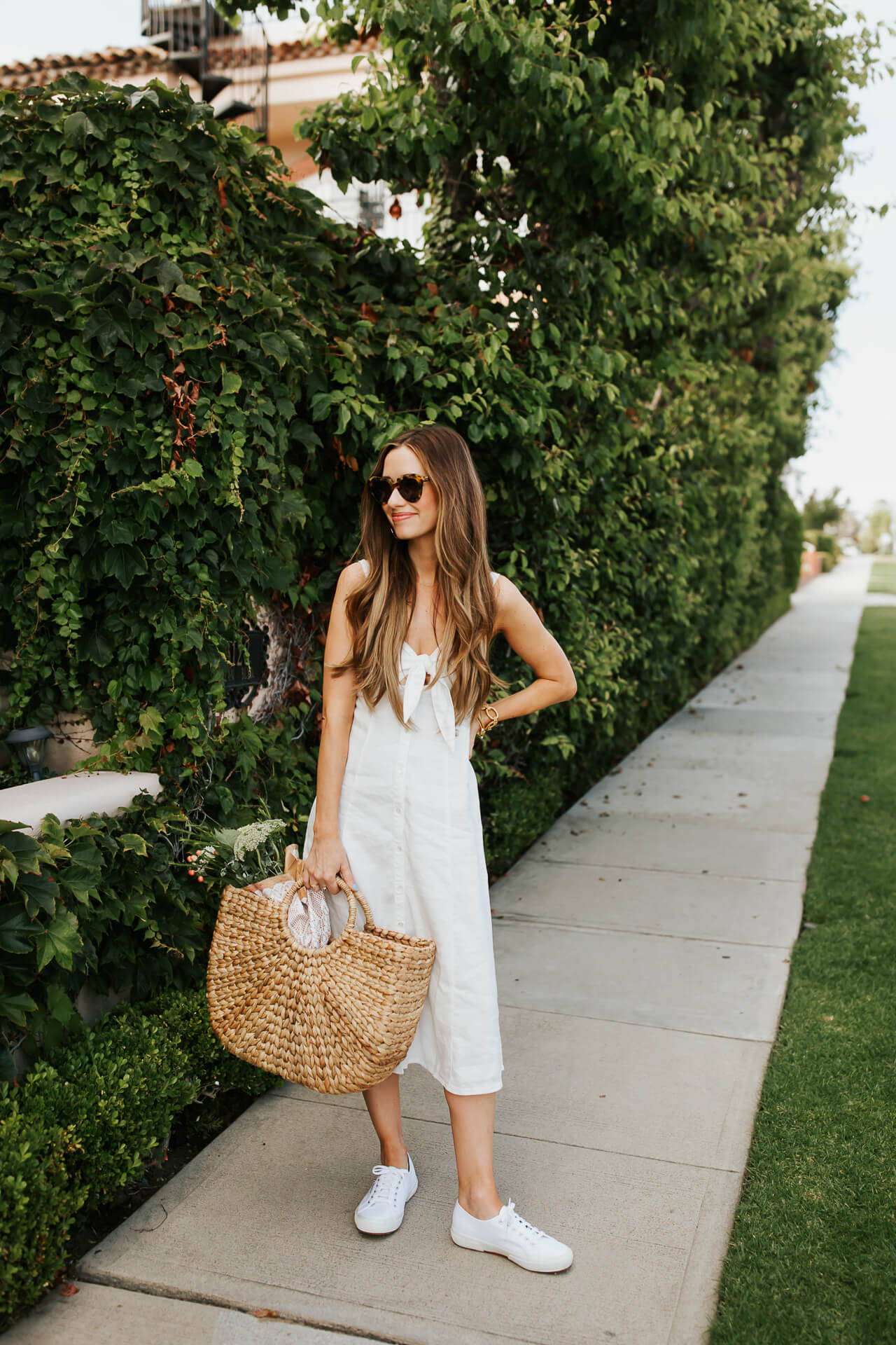 White summer dresses for every budget. | M Loves M @marmar