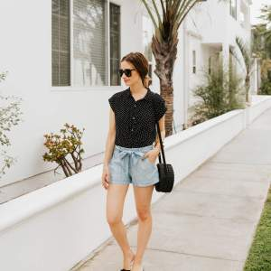 An Audrey Hepburn inspired outfit for summer! | M Loves M @marmar