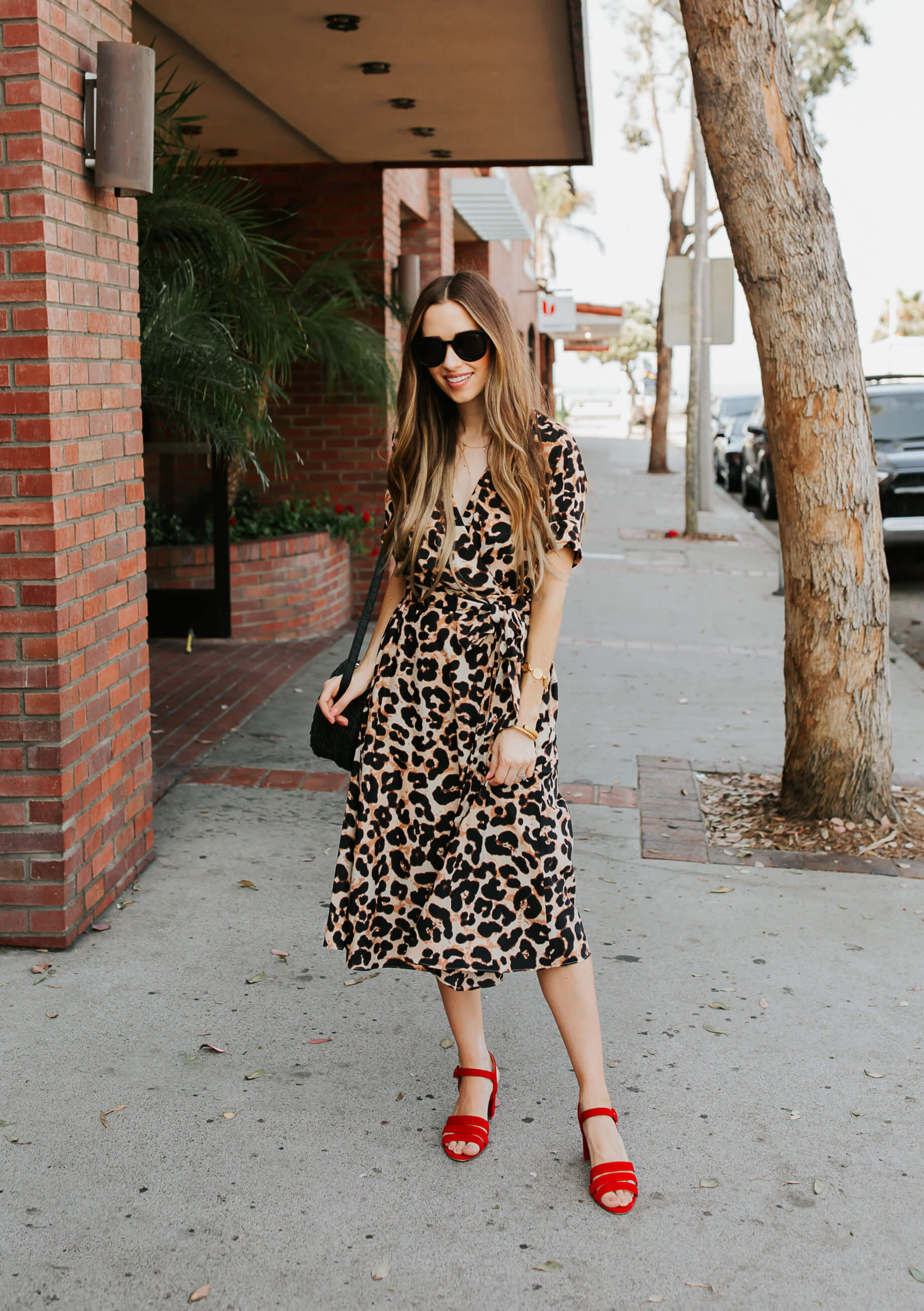 shoes with leopard print dress