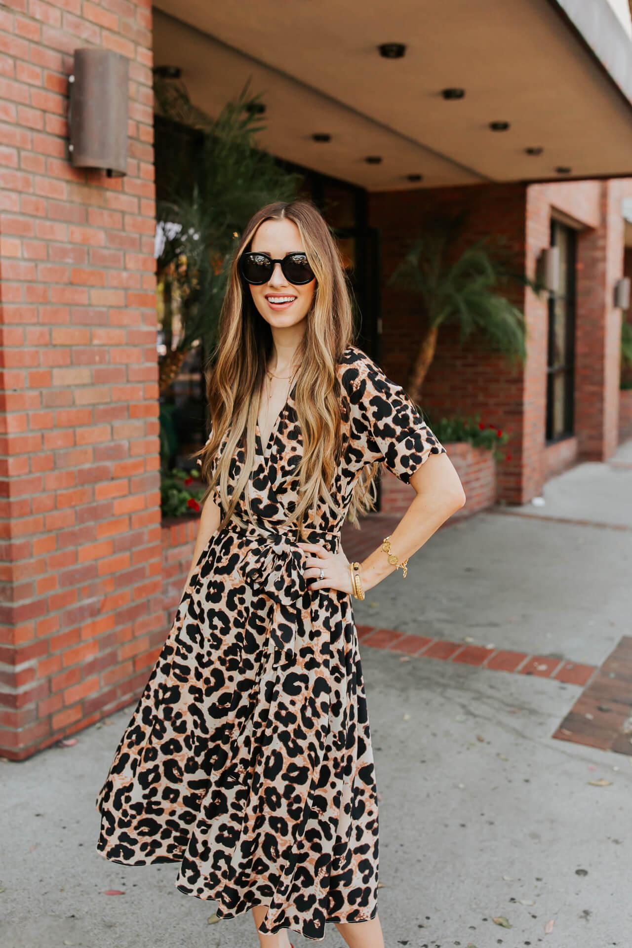 A glamorous leopard print shirtdress. | M Loves M @marmar