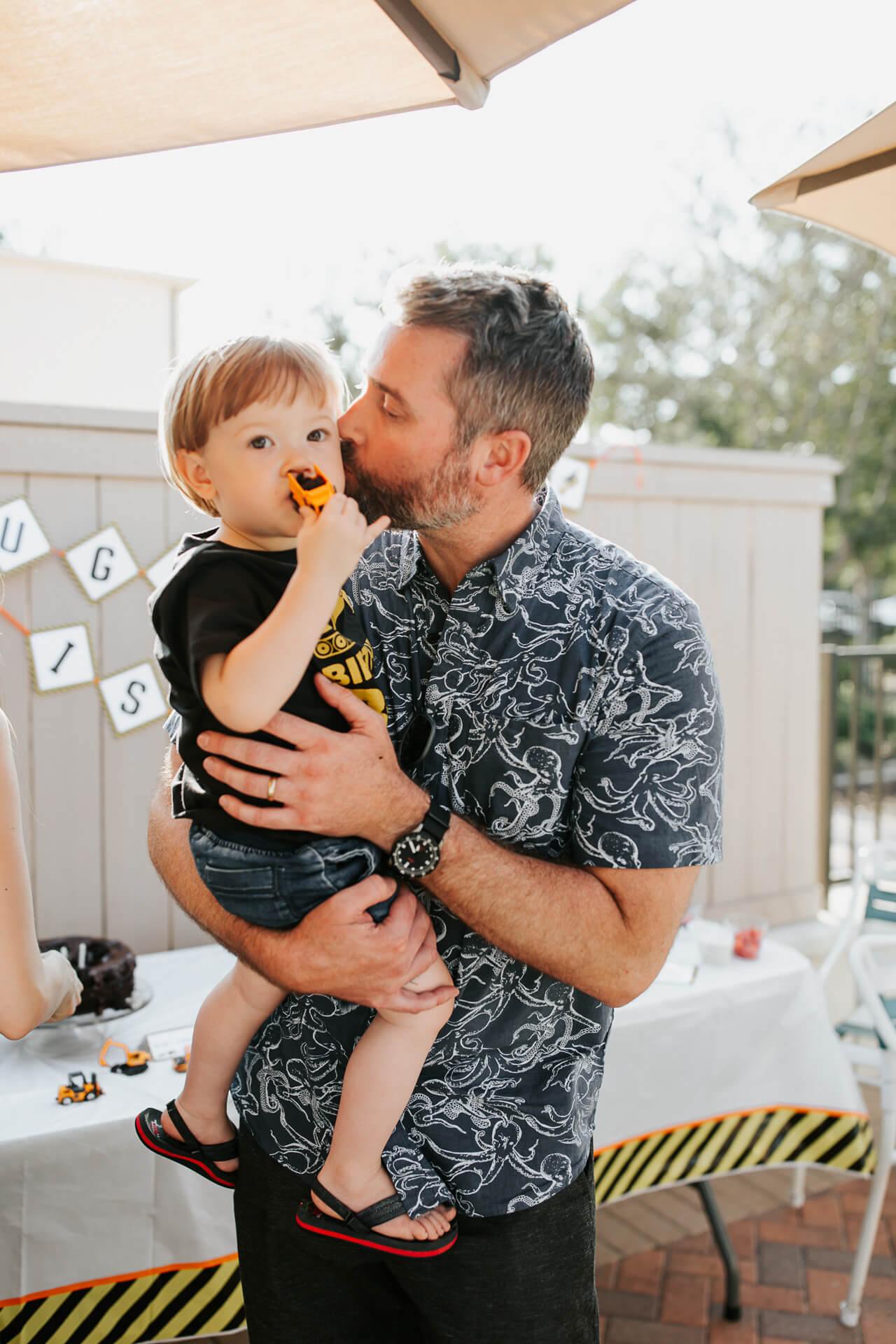 Augustine and Matthew at Augustine's 2nd Birthday Party- M Loves M @marmar