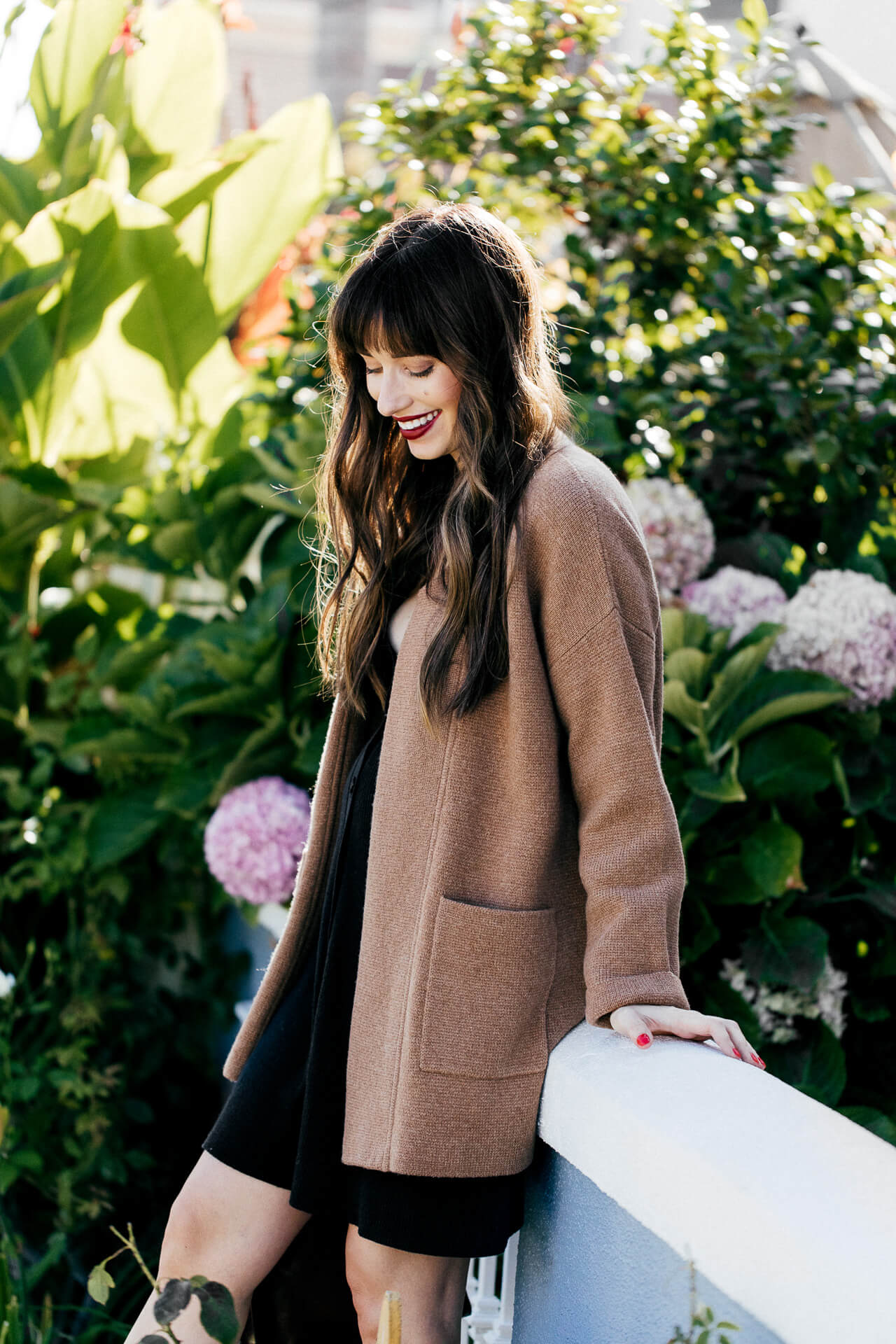 This long camel sweater is a perfect fall sweater. | M Loves M @marmar